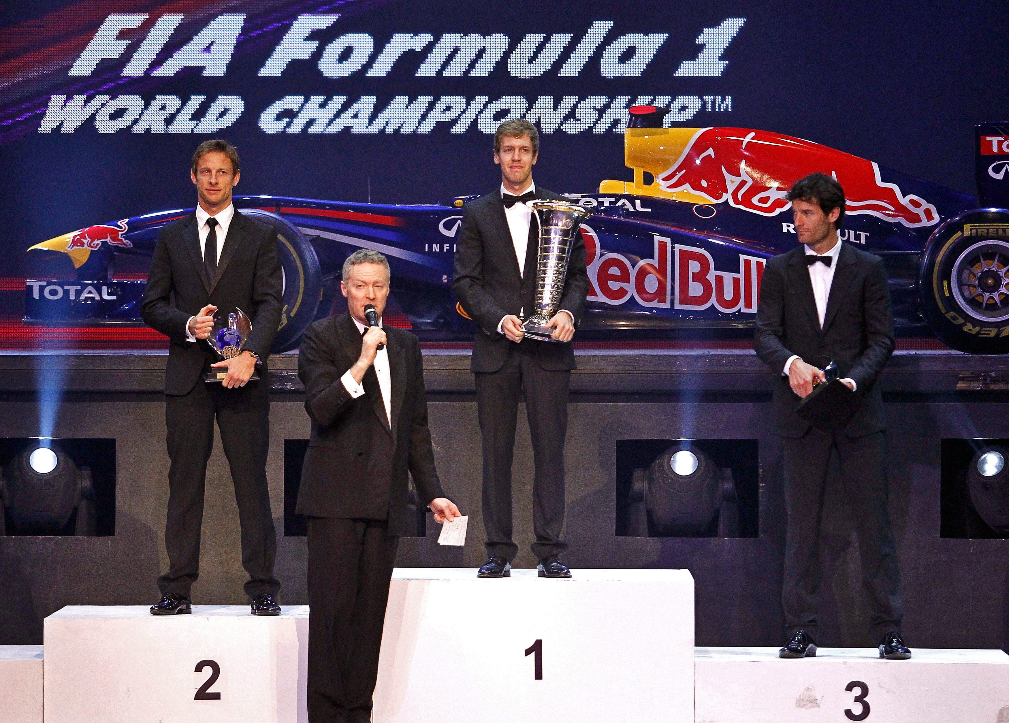 На официална церемония в Ню Делхи наградиха победителите във Ф1