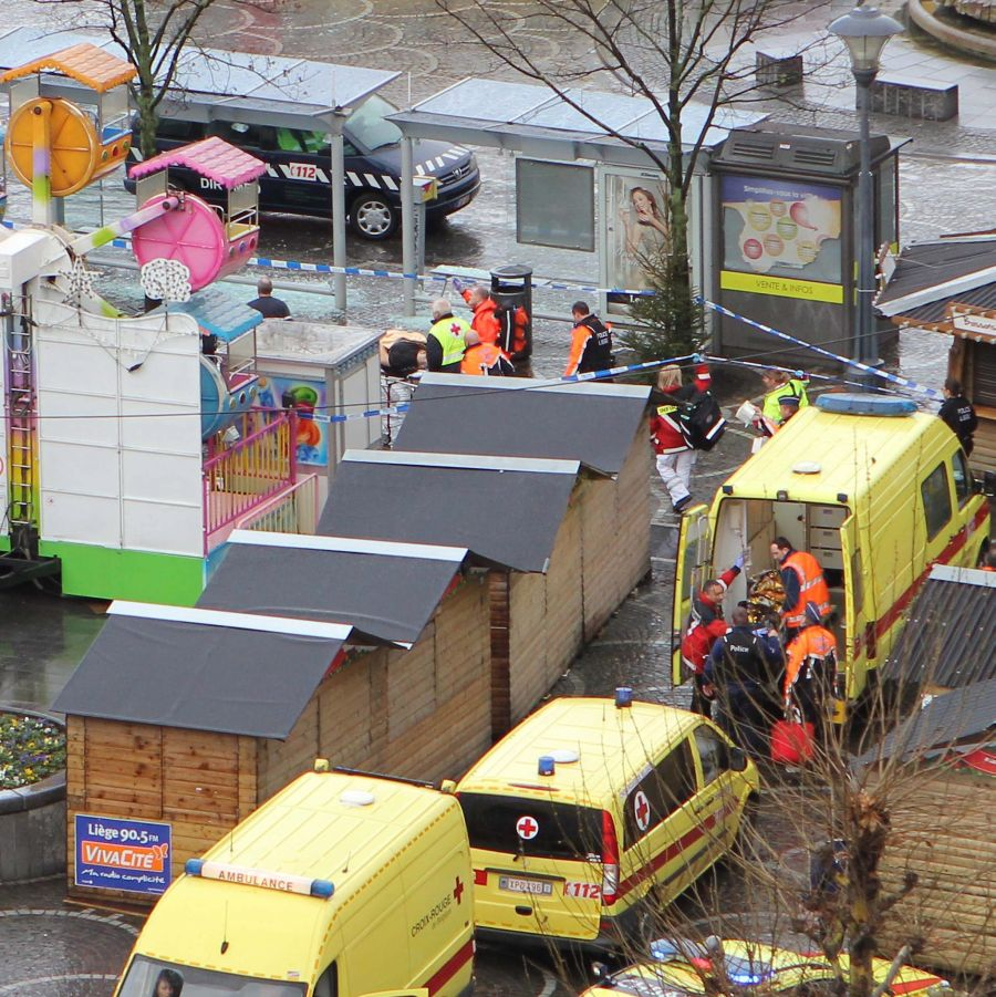 Расте броят на жертвите на стрелеца от Лиеж