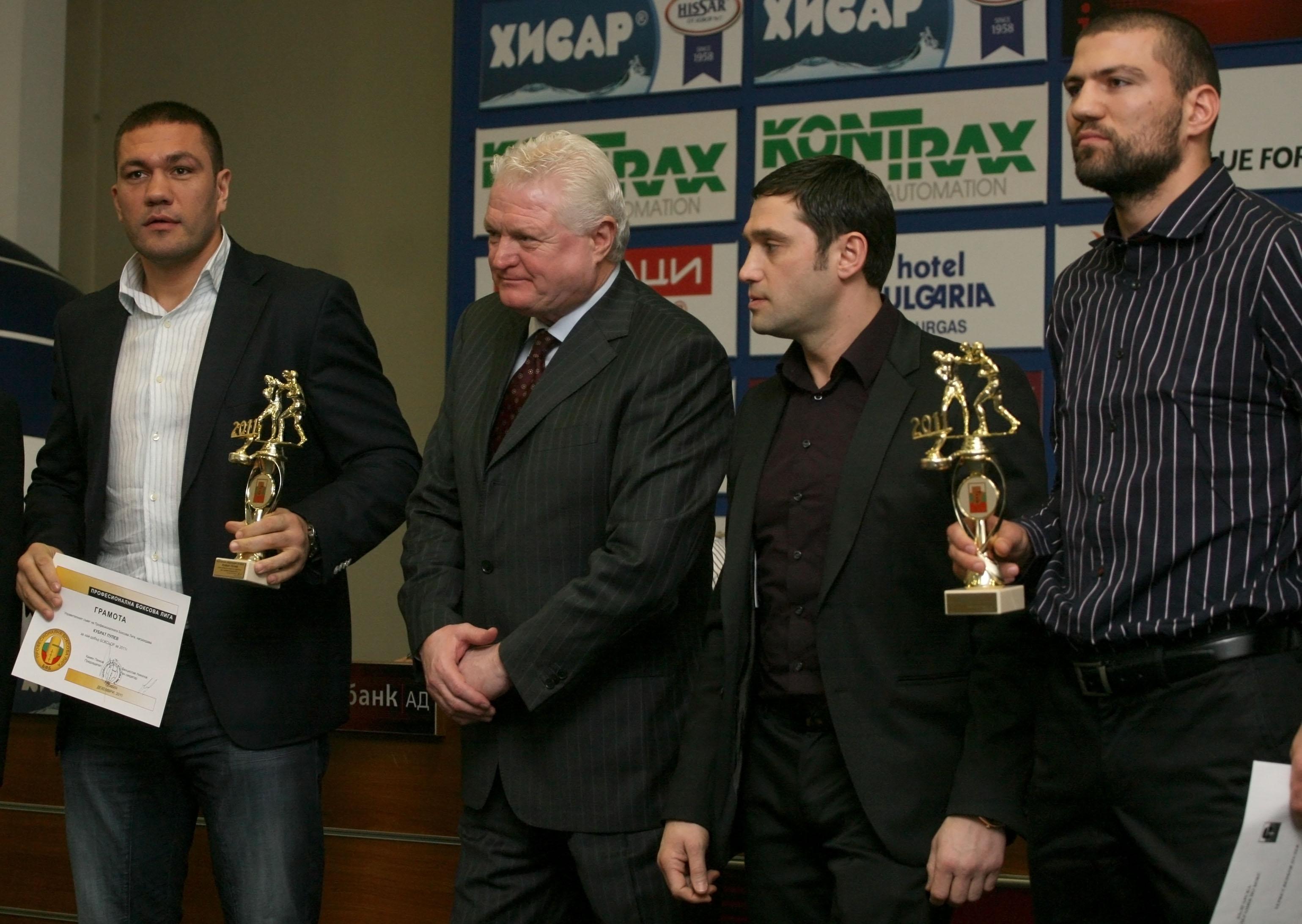 Кубрат и Тервел са най-добрите боксьори за 2011 година