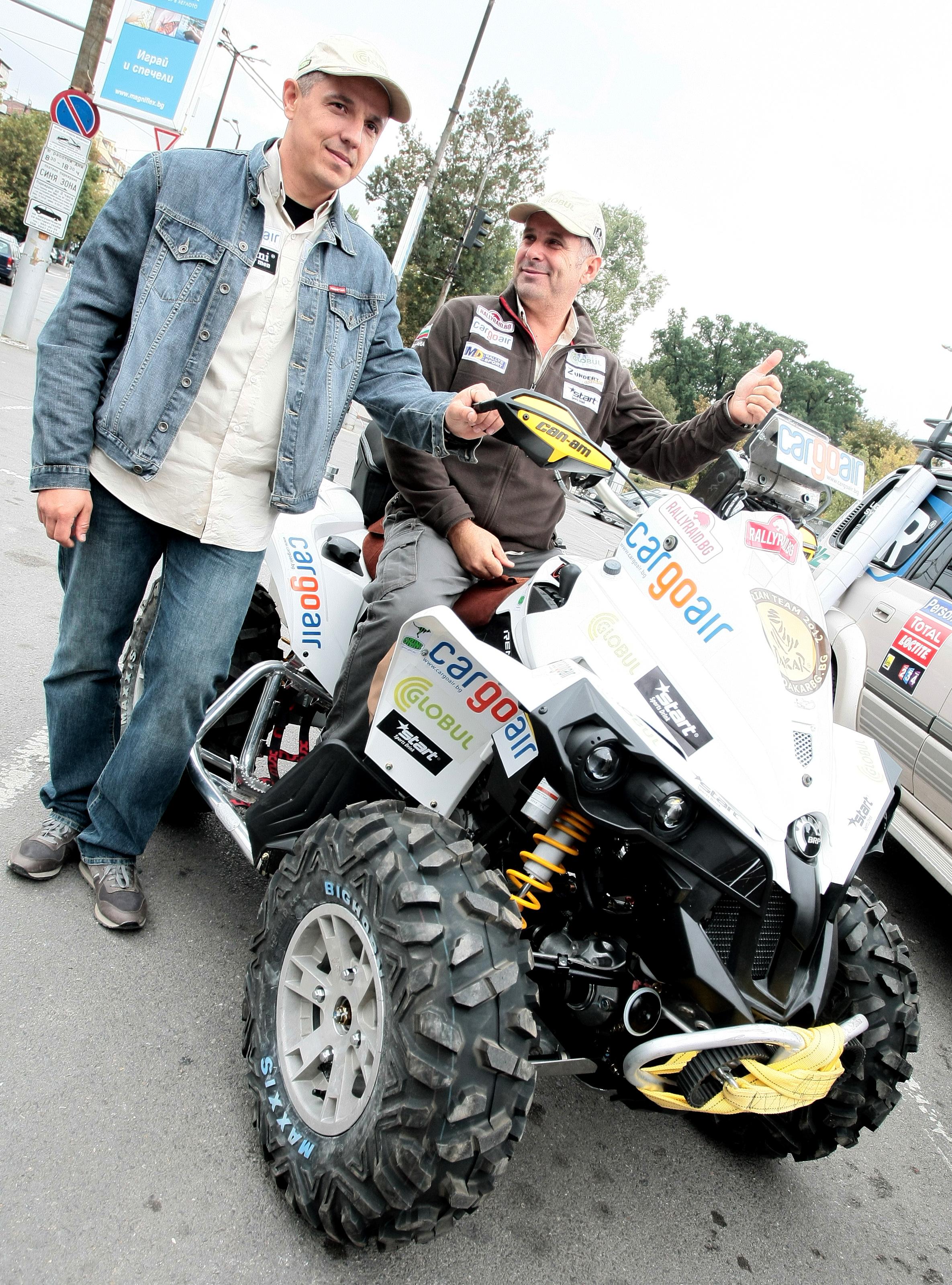 Петър Ценков е на 6-о място в етапа на Рали Дакар