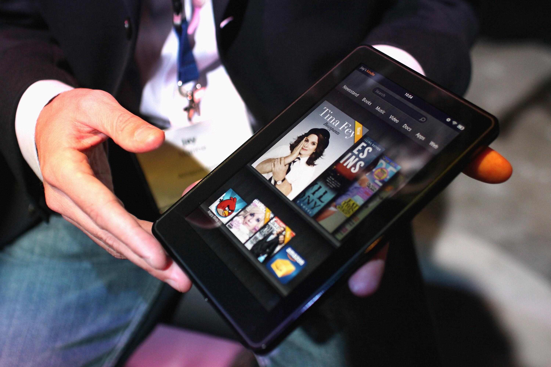 Kindle Fire застрашава продажбите на iPad