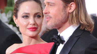 Брад Пит и Анджелина Джоли на тайна среща