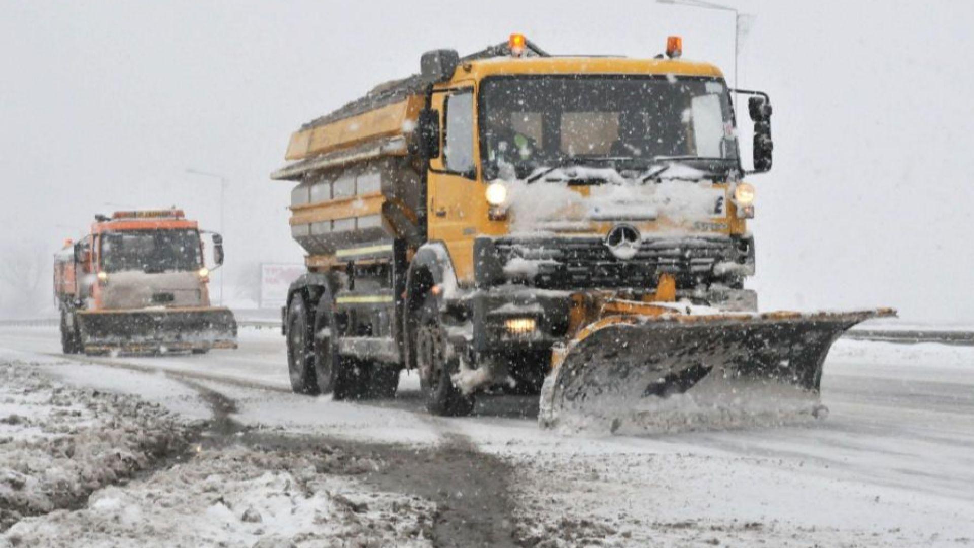 С 66 машини ще бъдат почиствани от сняг тази зима