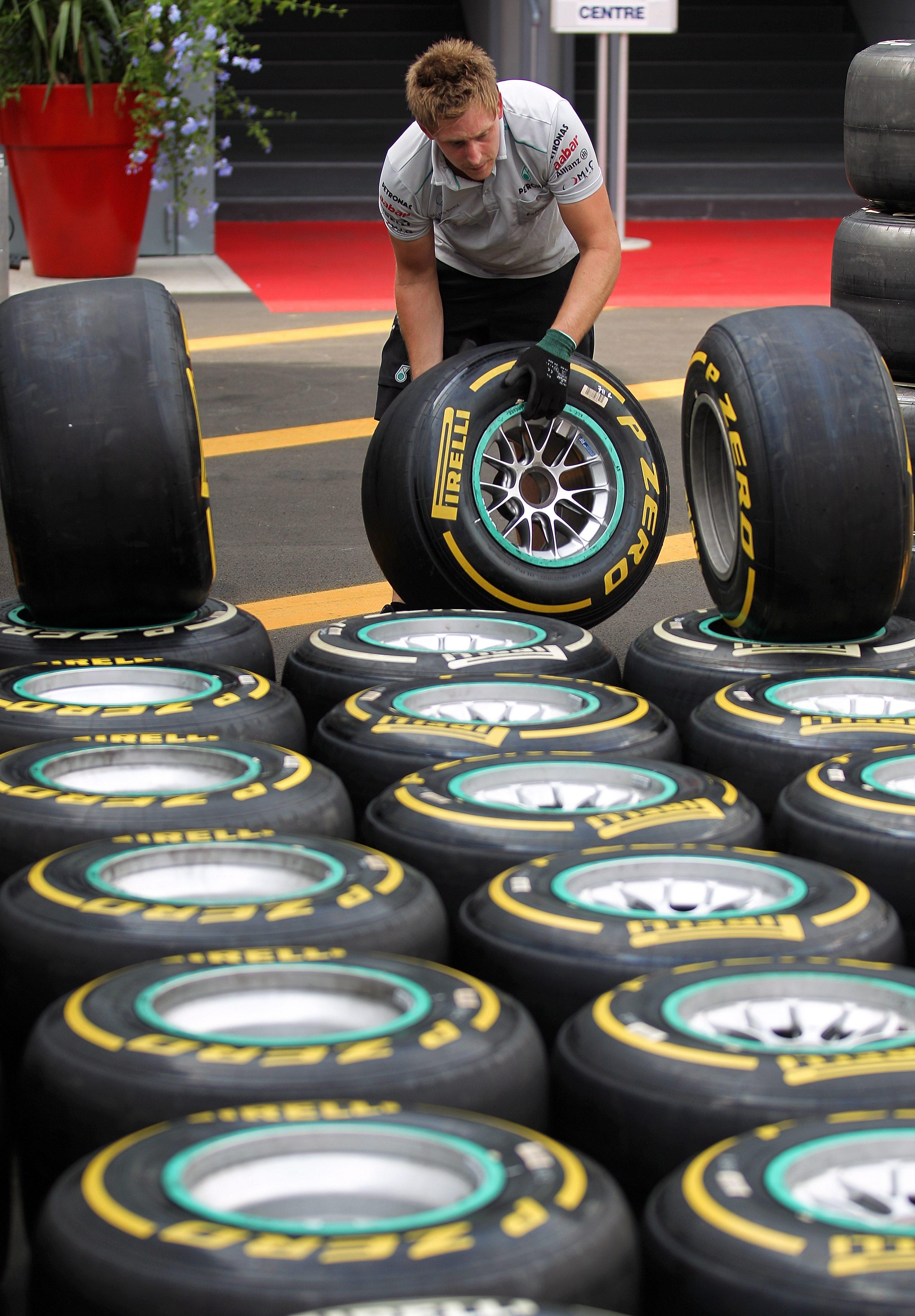 """""""Пирели"""" промени гумите и обеща повече шоу във Формула 1"""