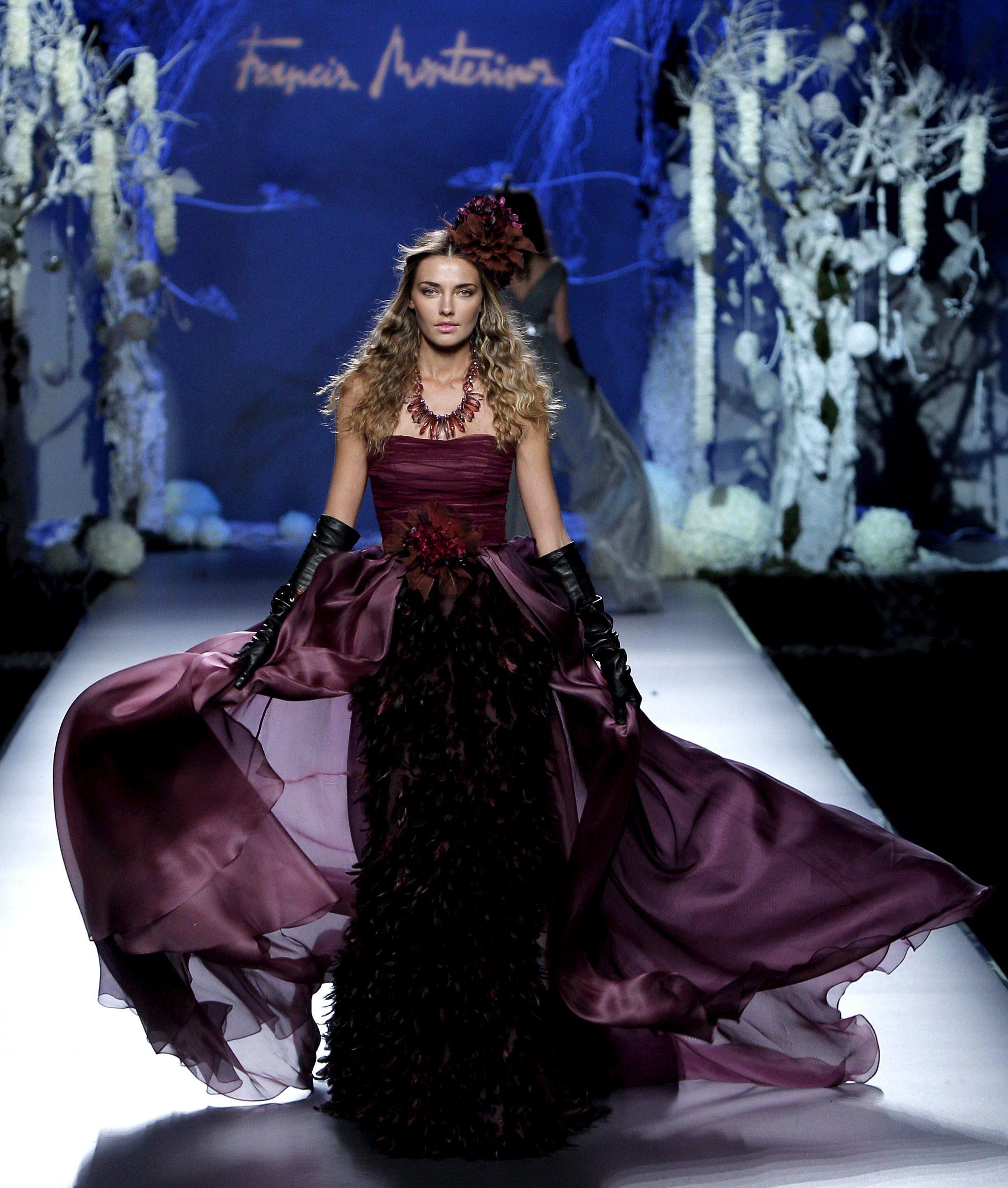 Принцесата от омагьосаната гора на подиума в Мадрид