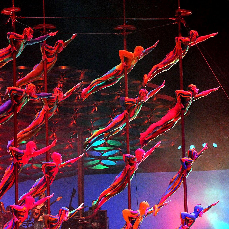 Cirque du Soleil показа първото си представление в столицата