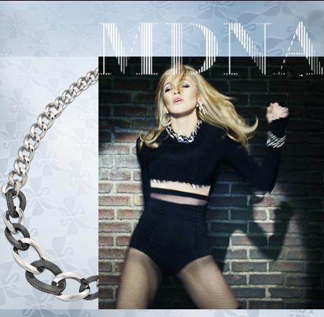 Мадона подарява луксозна огърлица на свой почитател