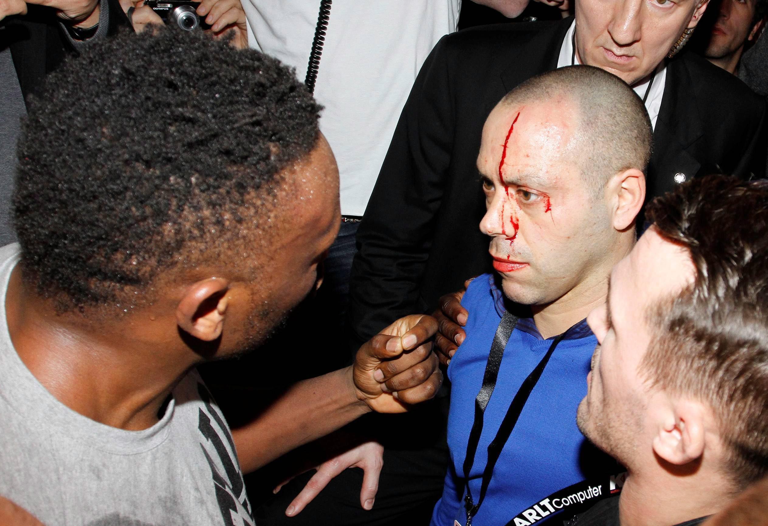 Чисора и Хей се сбиха яко след победата на Кличко