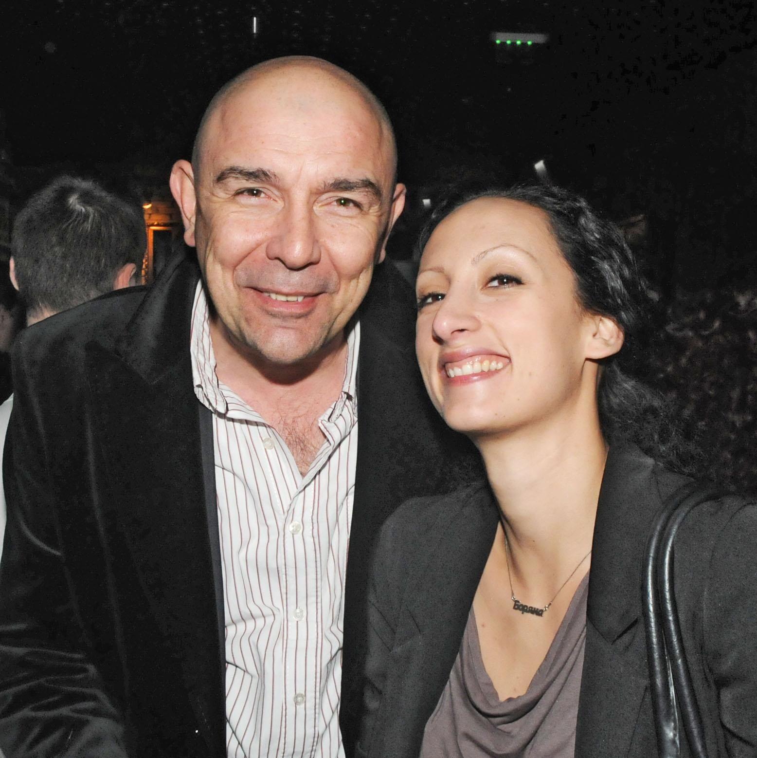 Калин Сърменов и съпругата му Боряна