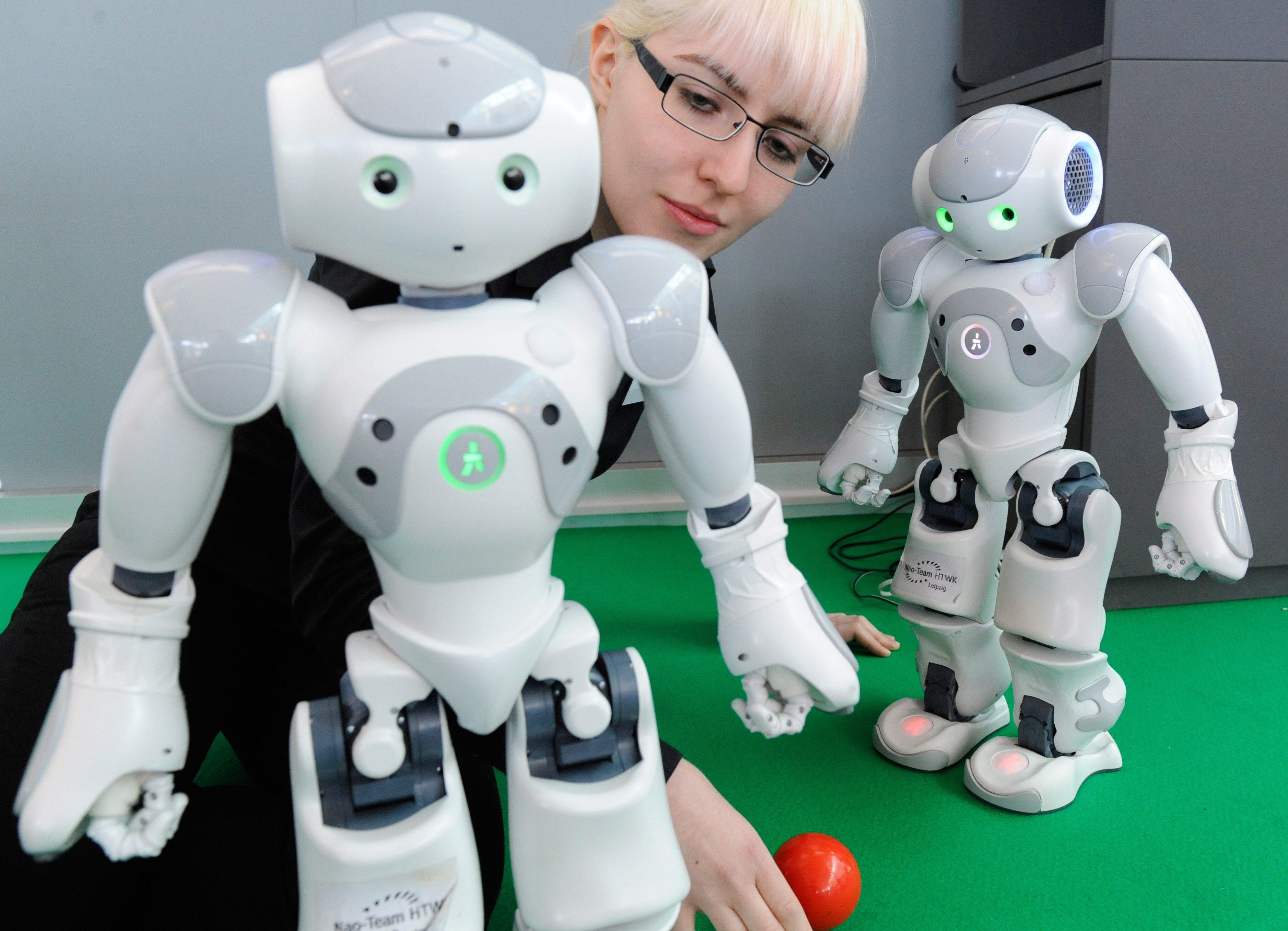 Роботи привлякоха вниманието на CeBIT