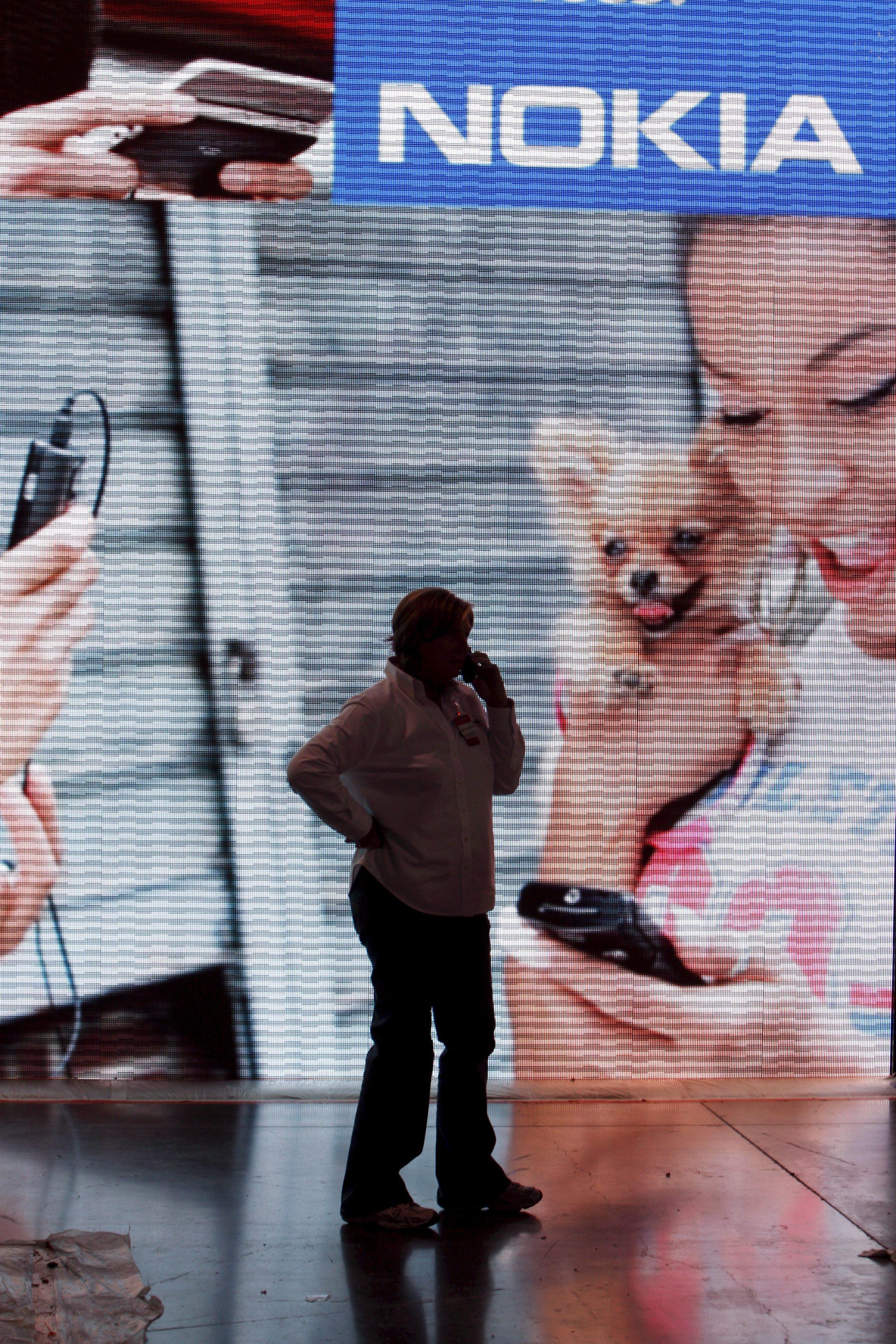 Акциите на Nokia се сринаха с 19%