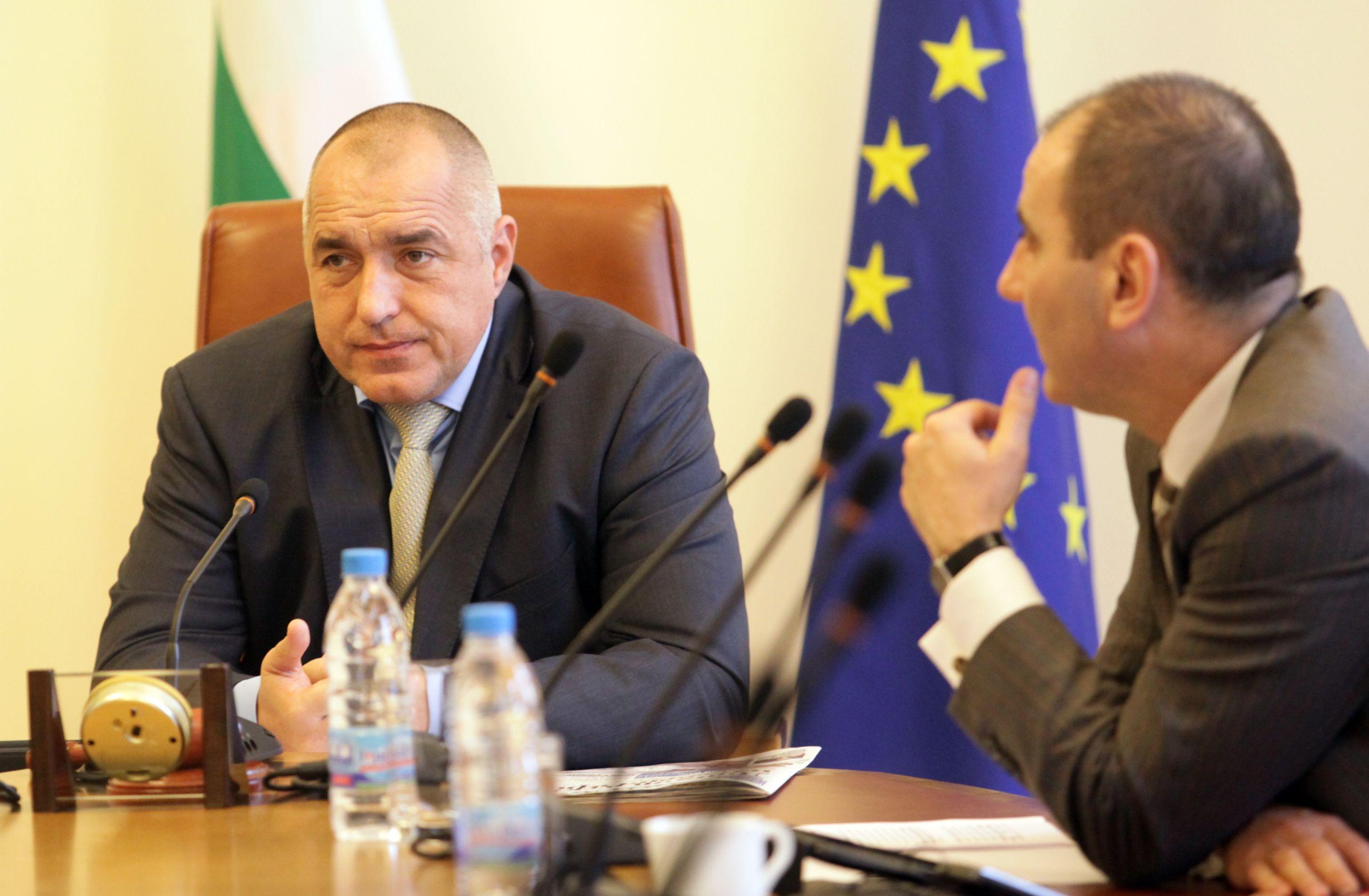 Борисов: Трайков само започва, не довършва, Делян Добрев ще продължи