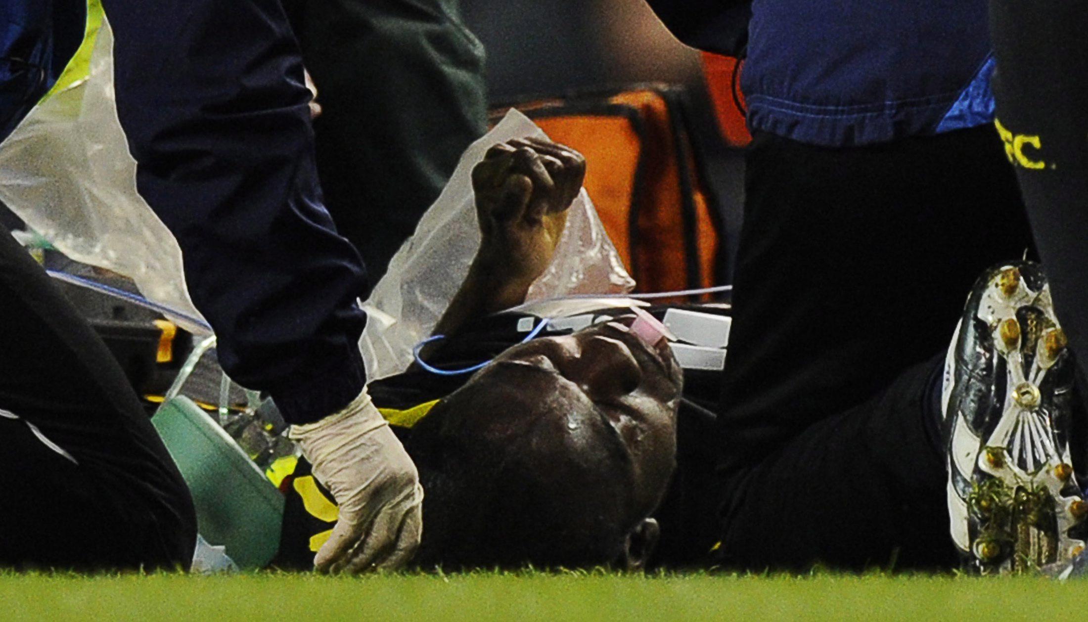 Официално: Муамба е получил сърдечен удар