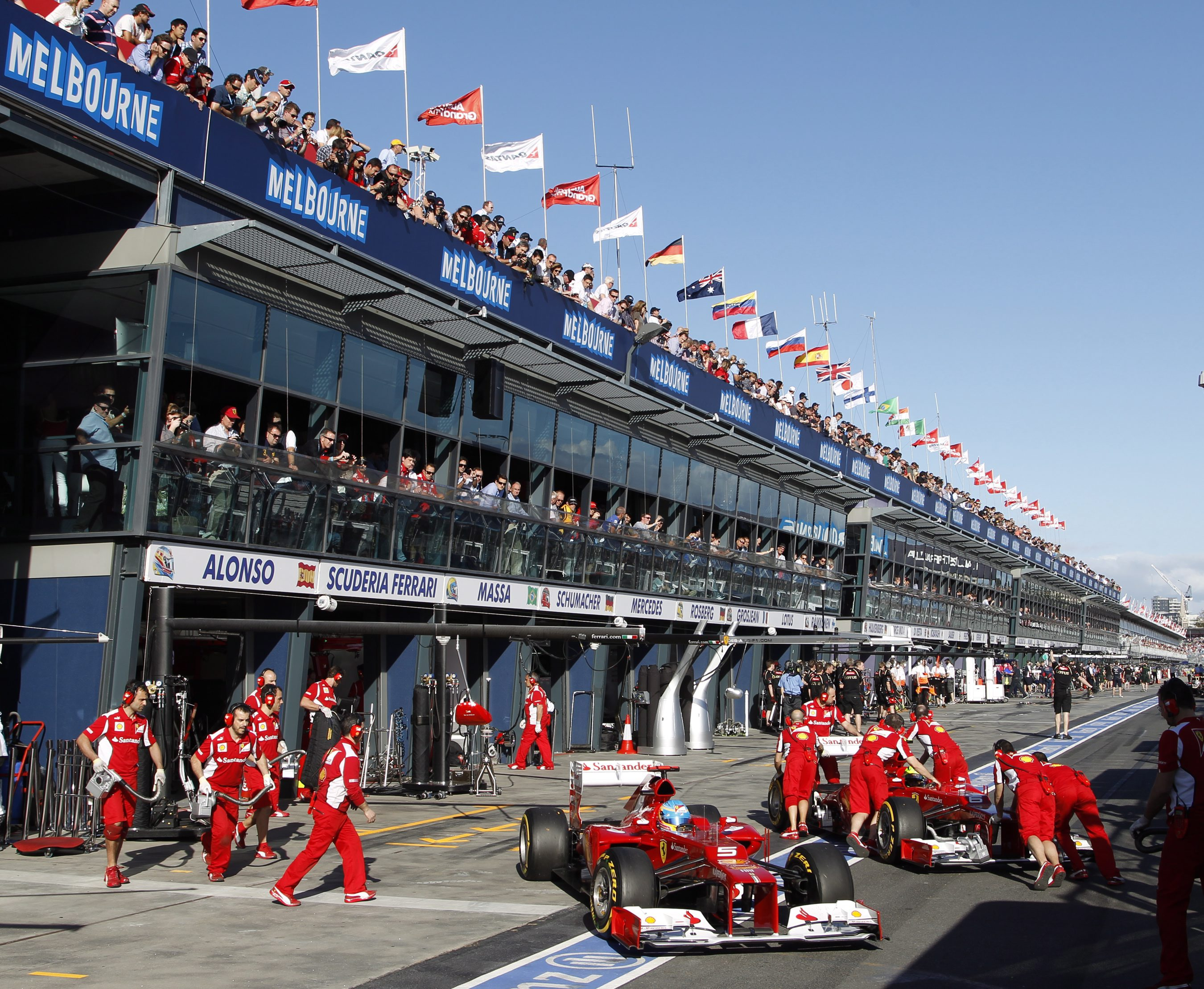 Кризисна среща за Ферари в Маранело