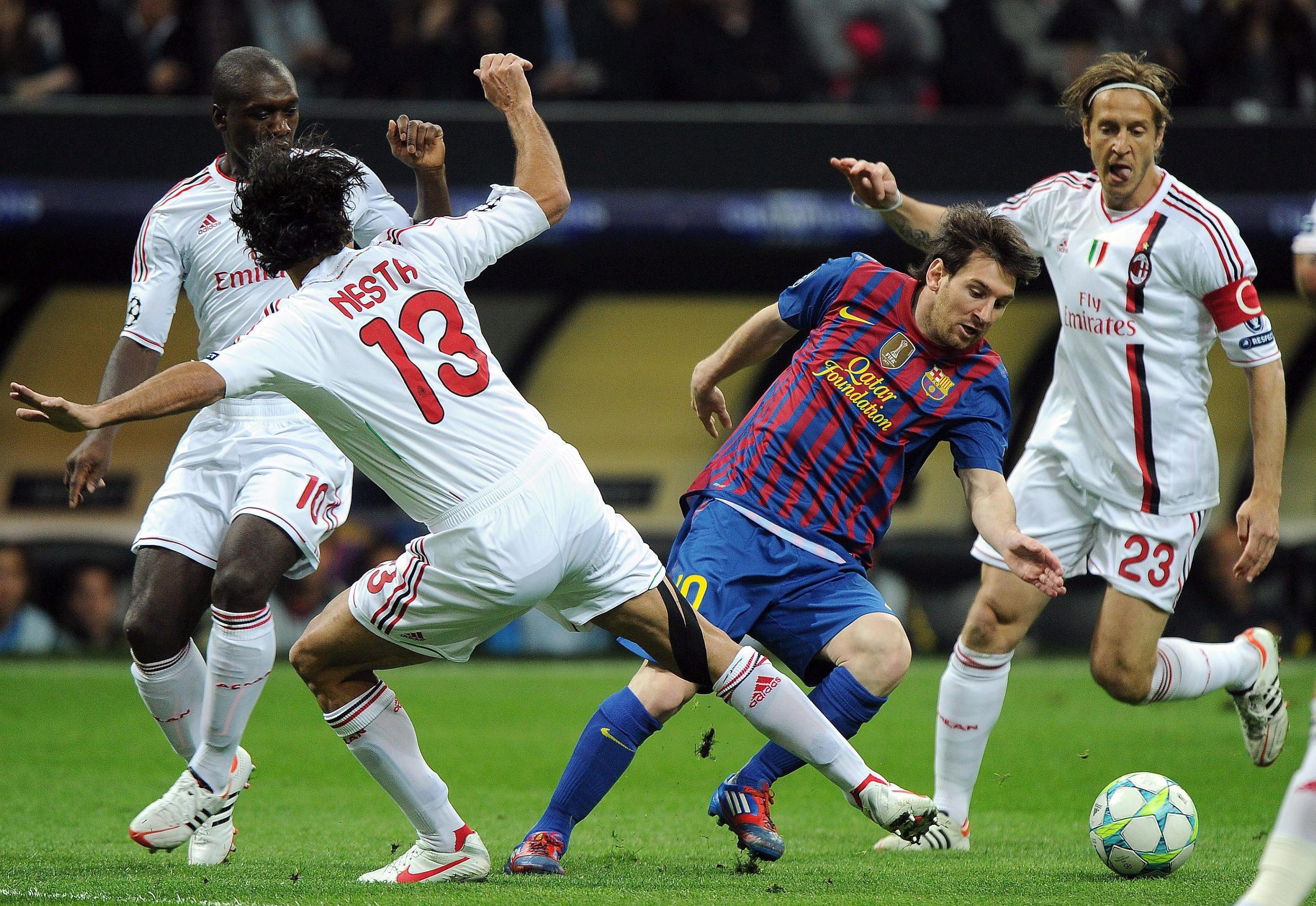 Милан и Барселона оставиха развръзката за реванша