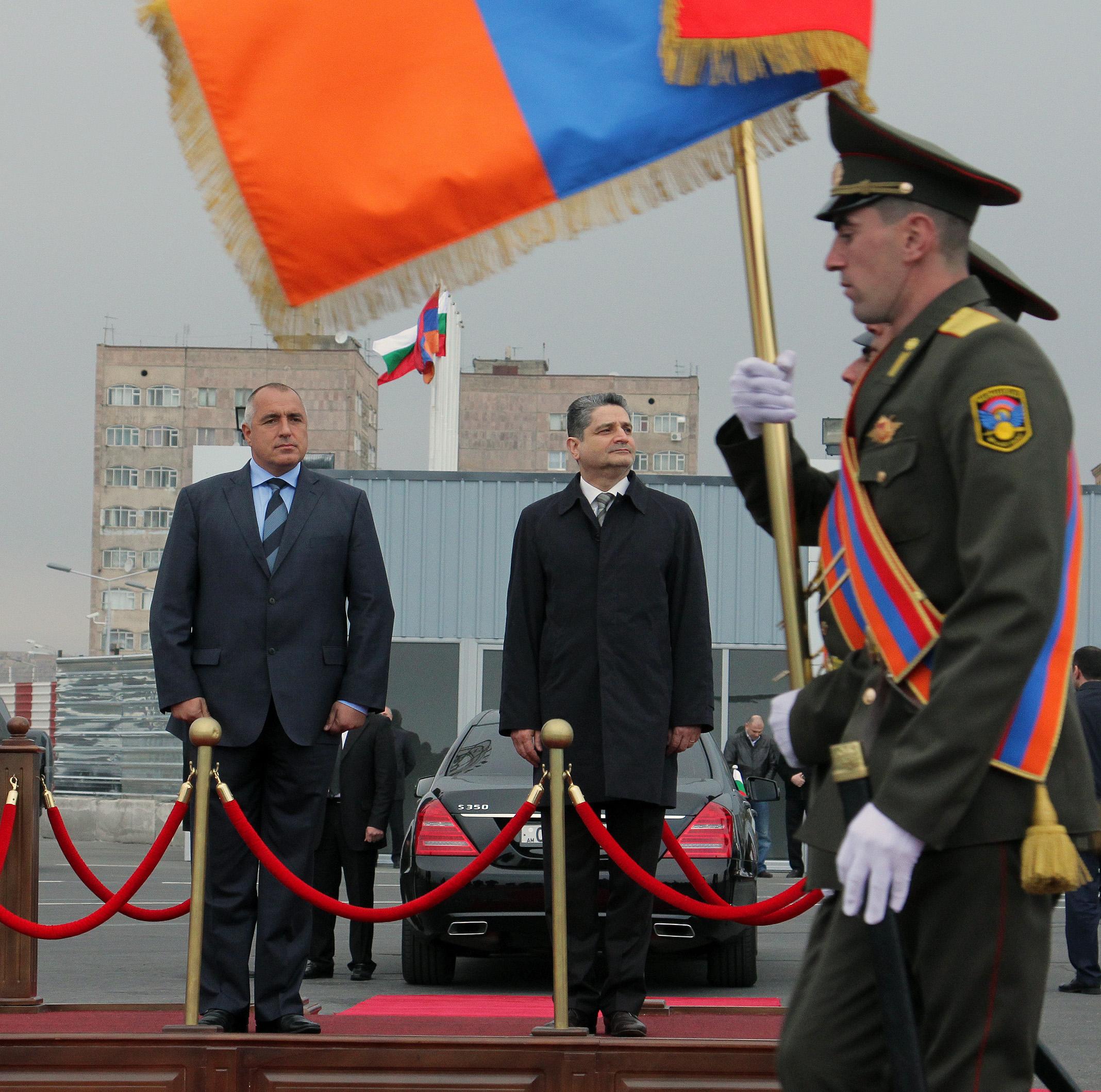 Борисов засади дръвче в памет на жертвите на арменския геноцид