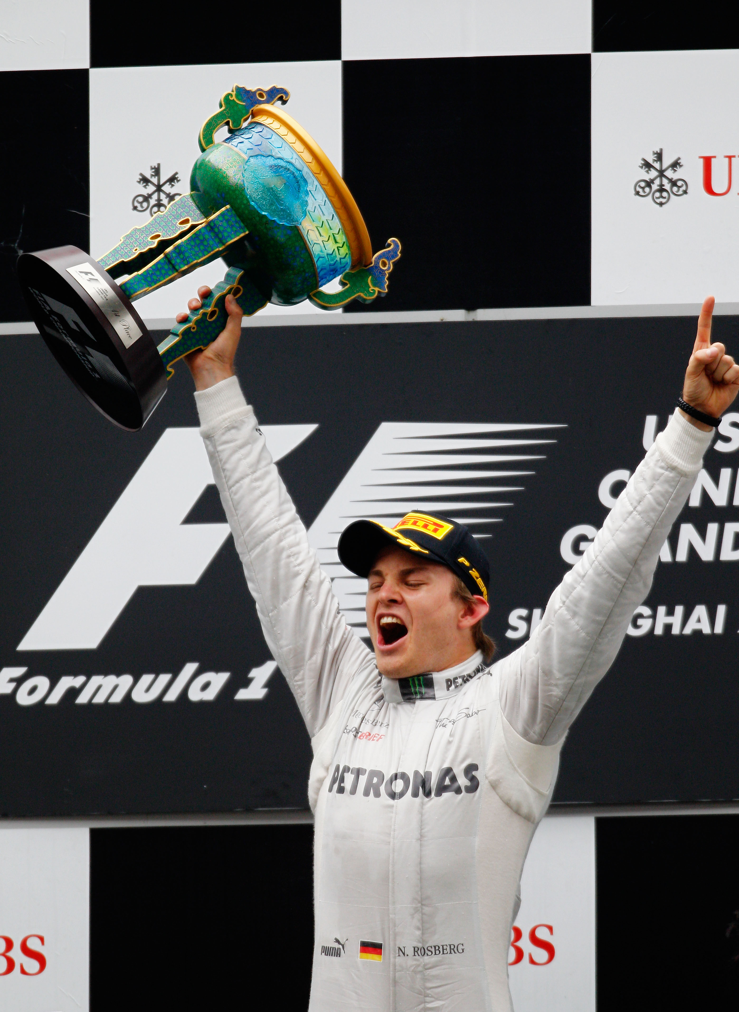 Розберг записа първа победа в кариерата си във Ф1