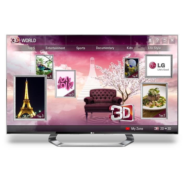 LG стартира услугата 3D World