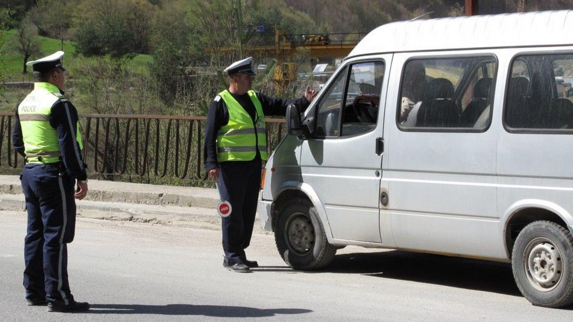Половината от проверените през уикенда шофьори са с фиш или акт