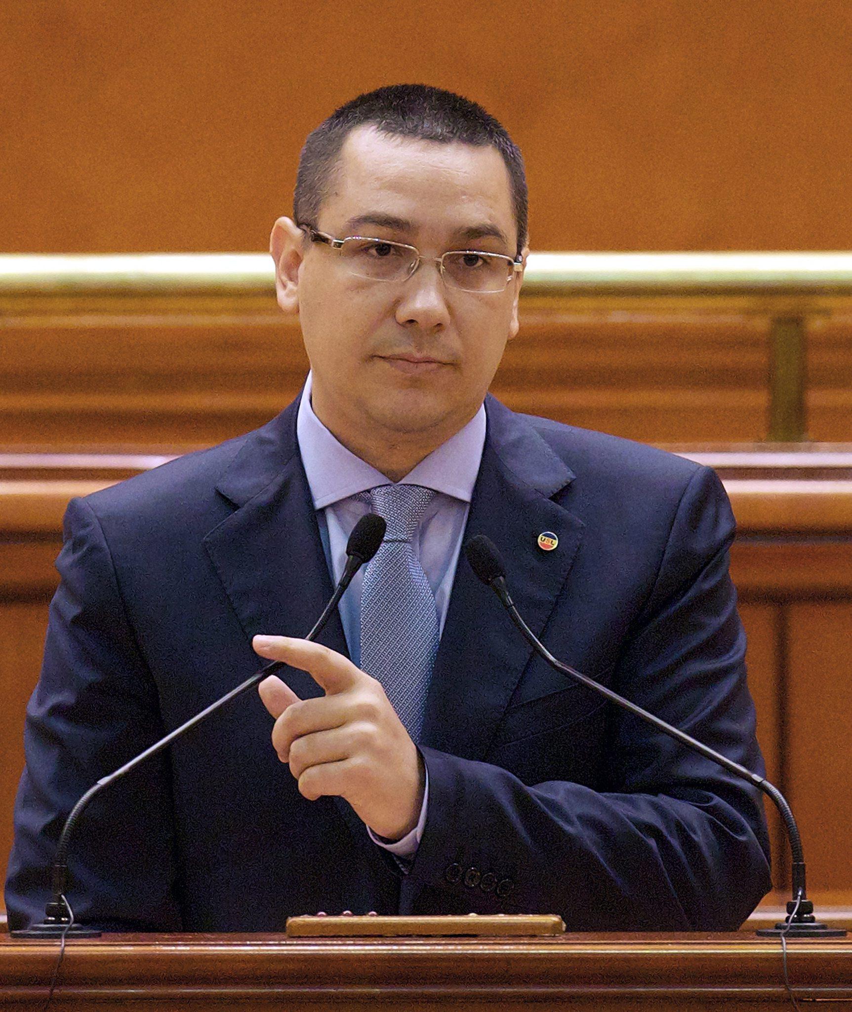 И румънският премиер обвинен в плагиатство