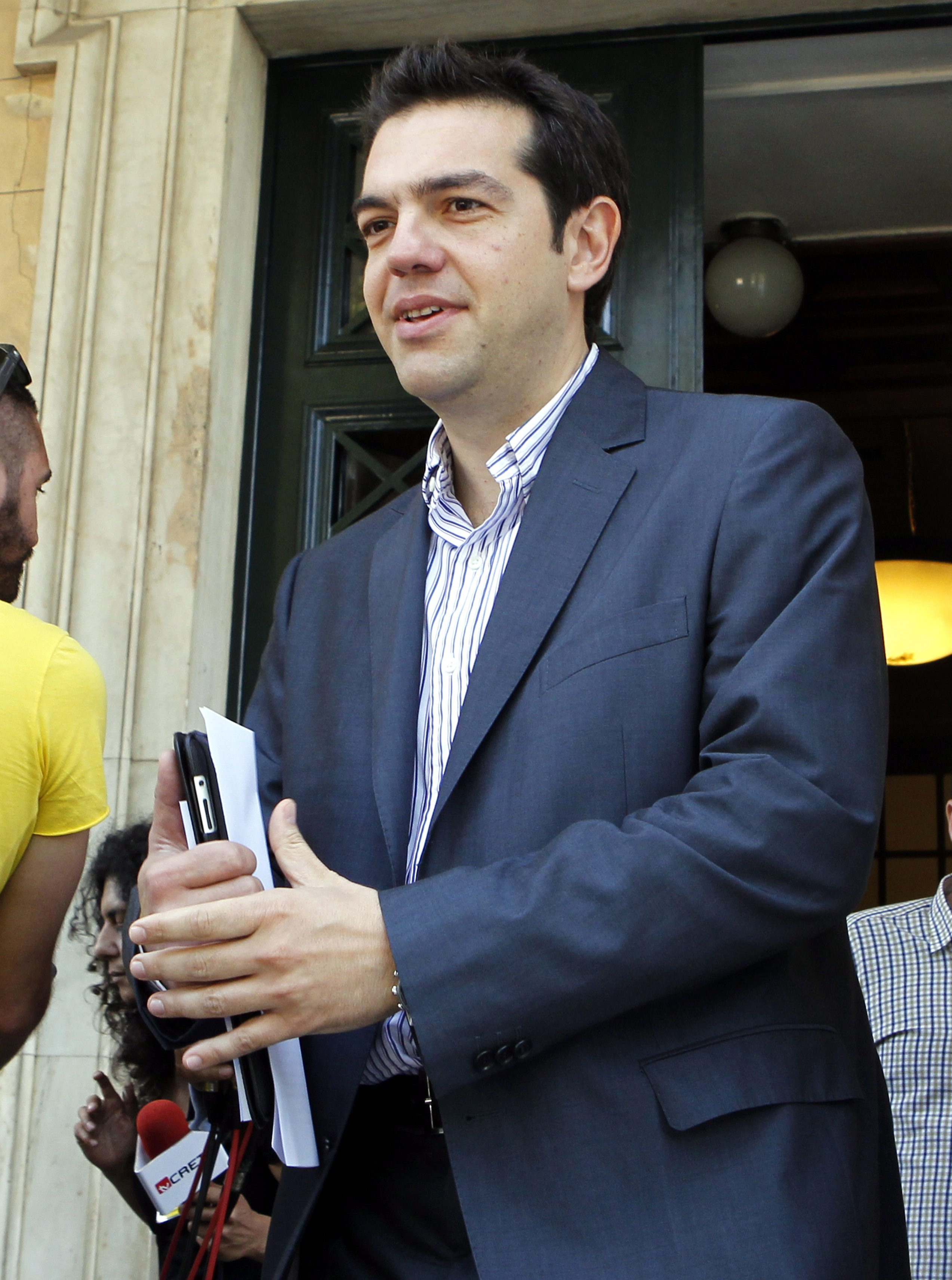 left wing leader alexis tsipras - HD2547×3422