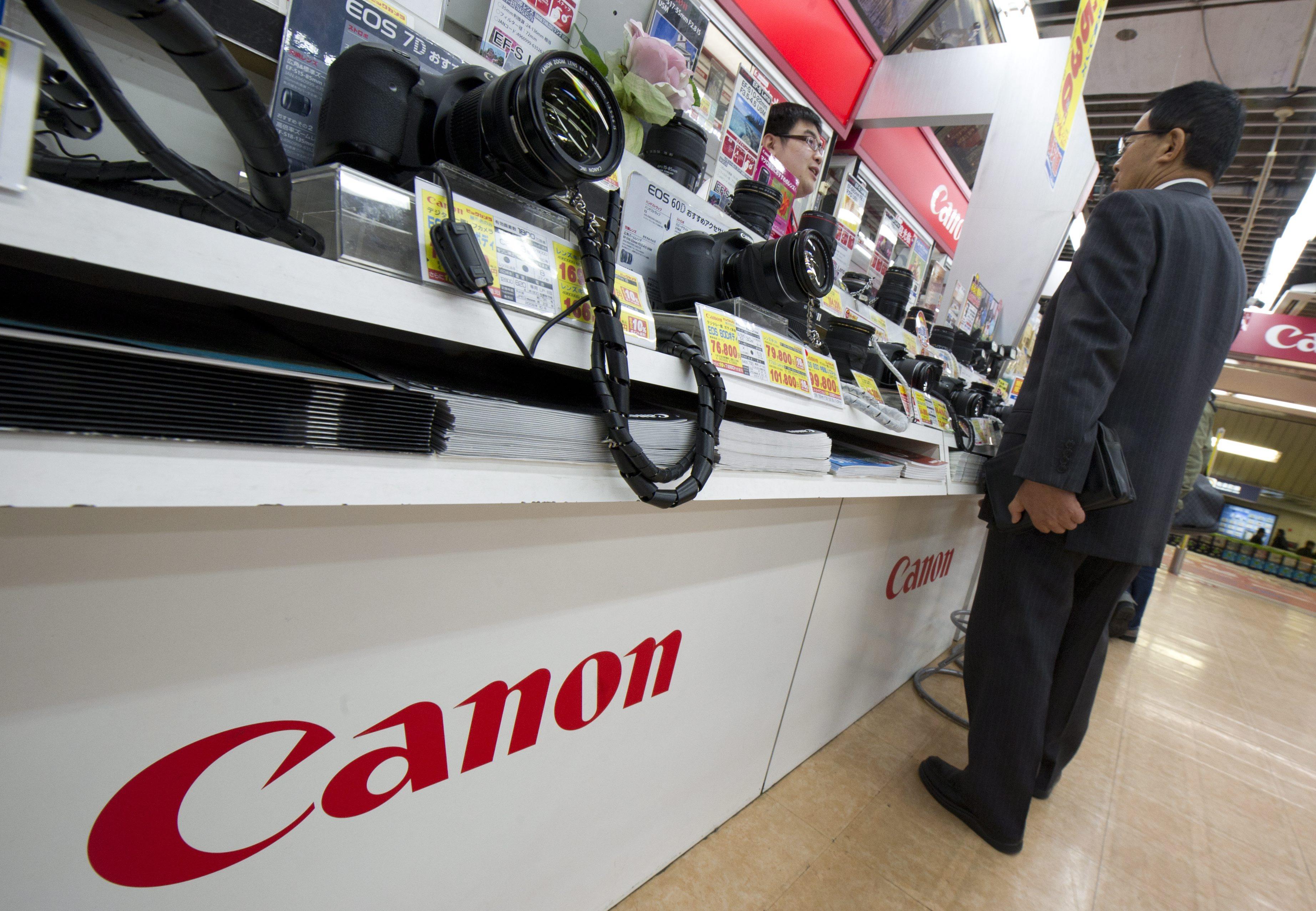 Canon се отказва от човешкия труд