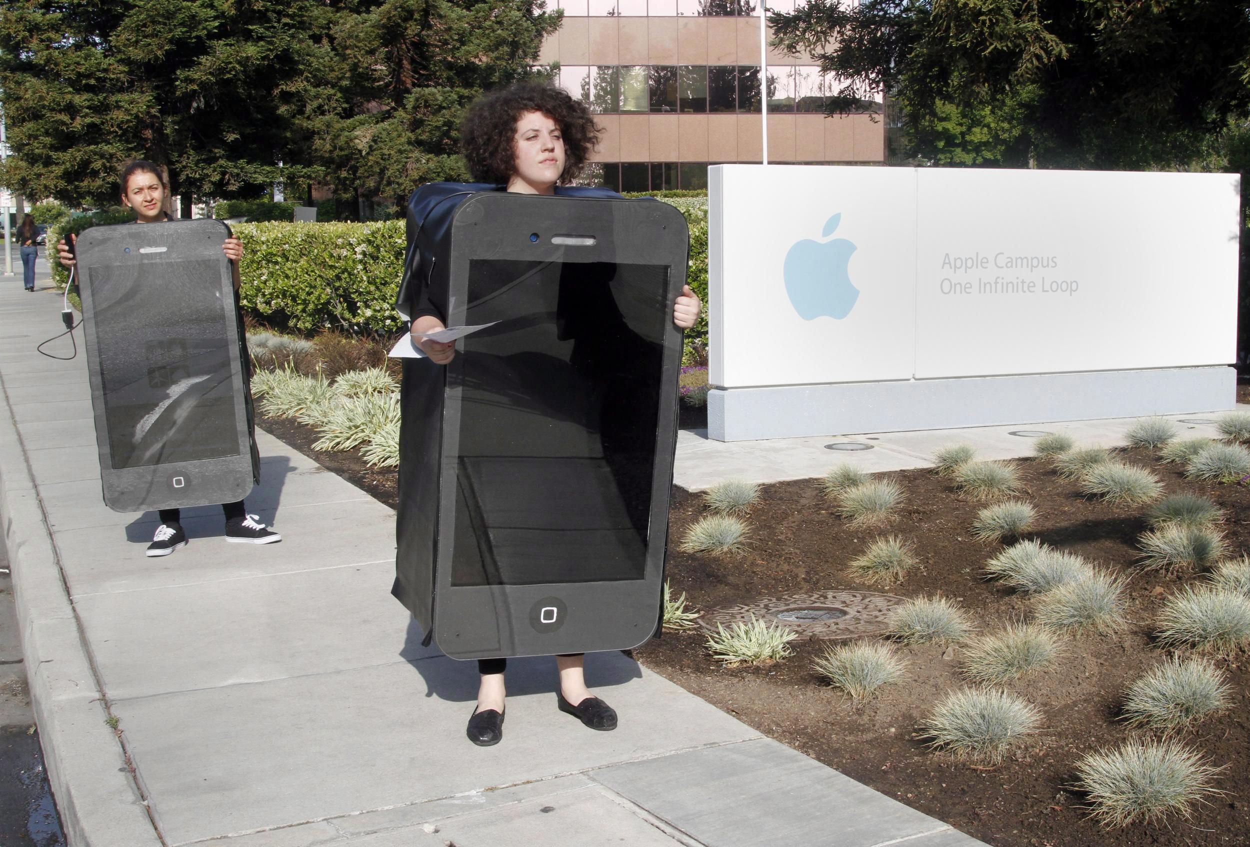 Apple минава на зелено