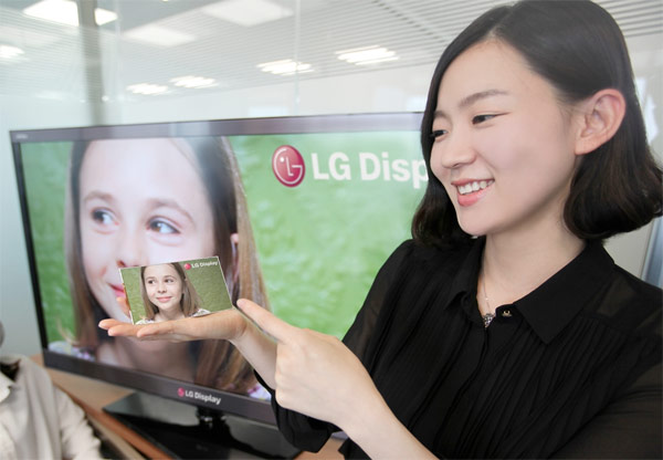 LG представи 5-инчов Full HD дисплей