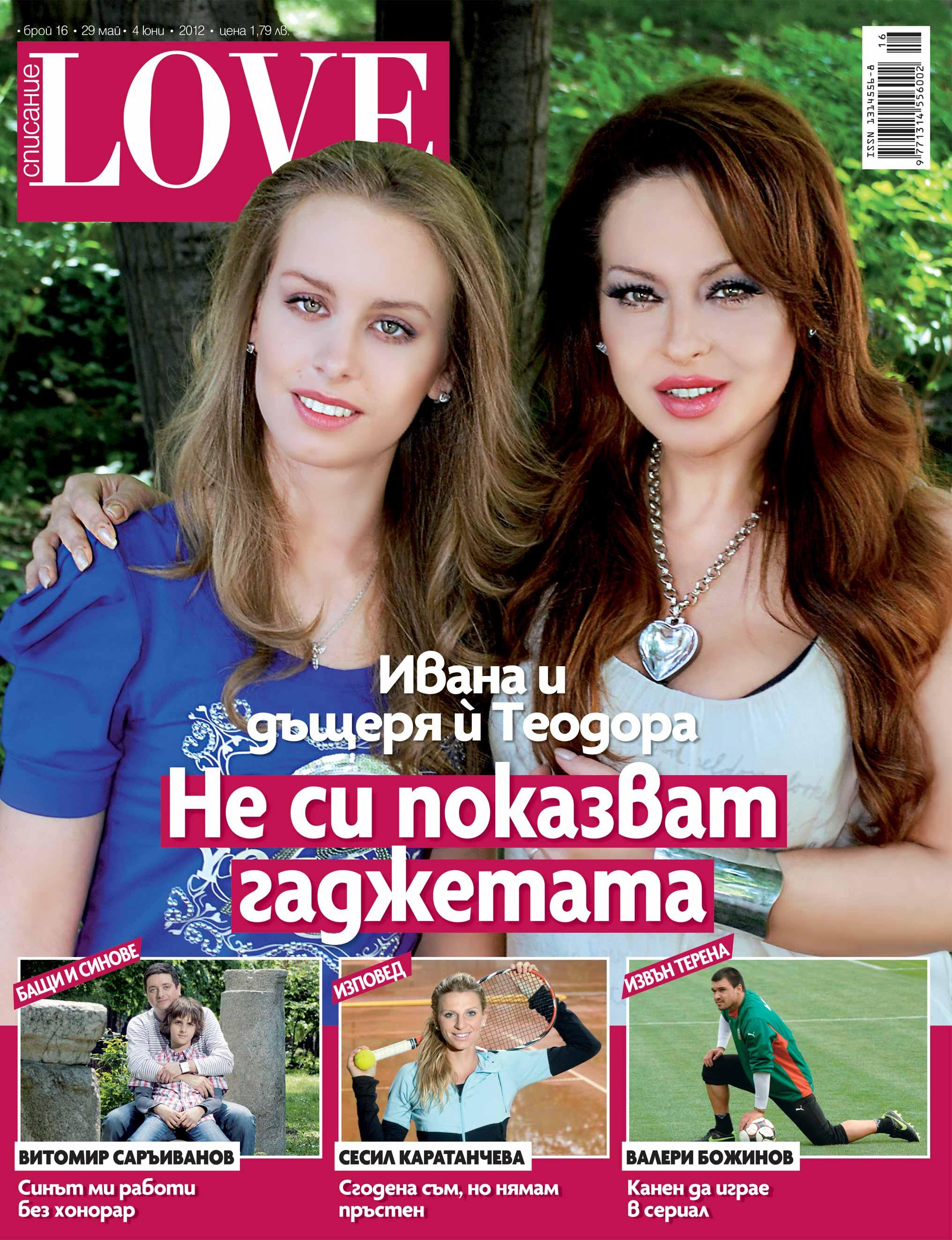 Ивана и дъщеря й крият гаджетата си една от друга