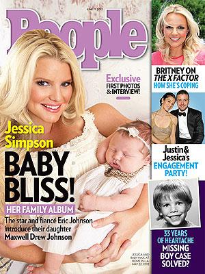 Джесика Симпсън показа бебето си за 800 000 долара