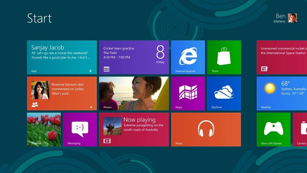 Финалната версия на Windows 8 изтече в нета