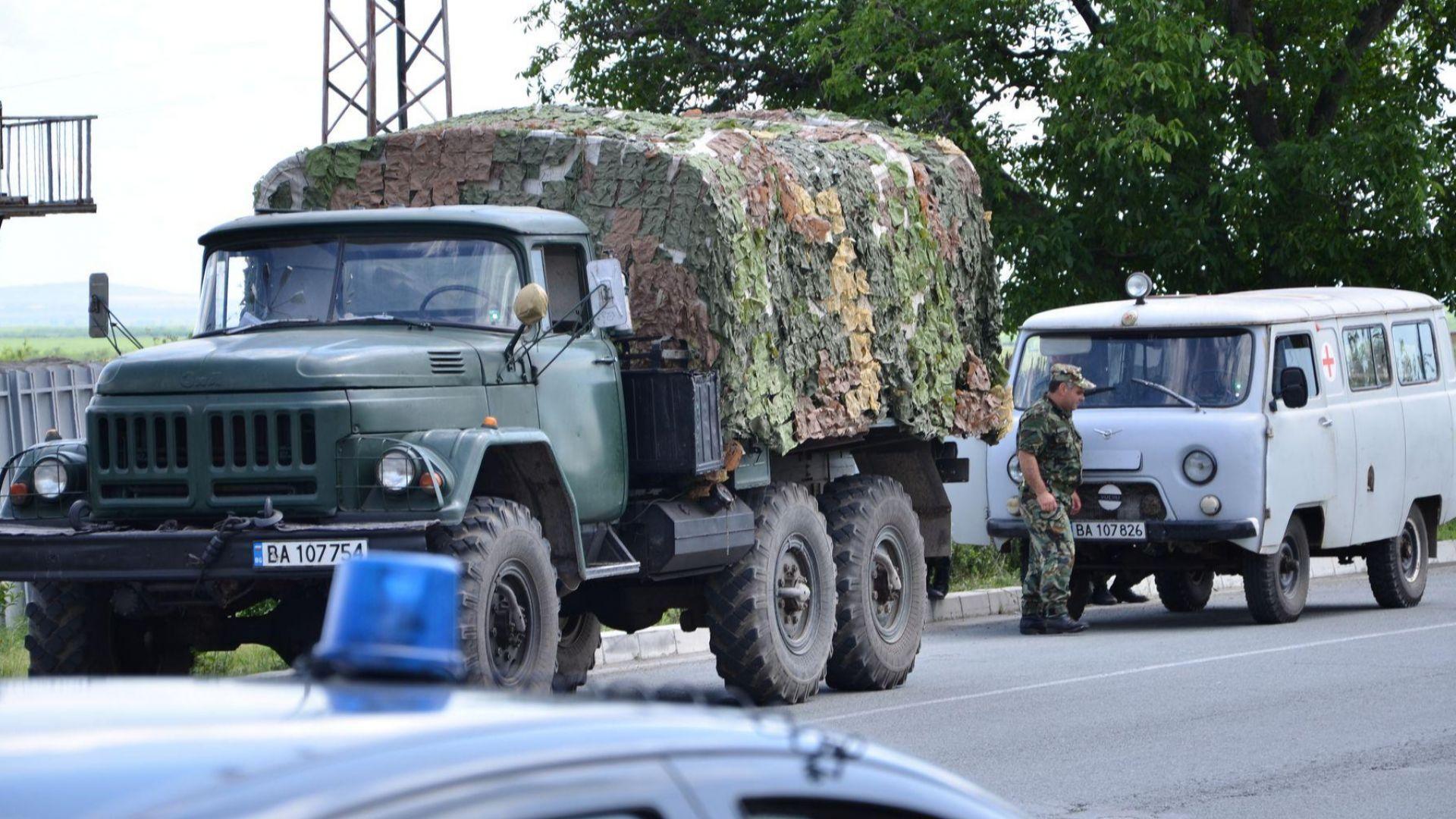 Екип на МО ще обезврежда мината на пътя Русе - Силистра