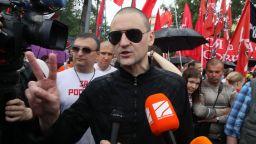 Руски ляв опозиционер обяви гладна стачка след арест