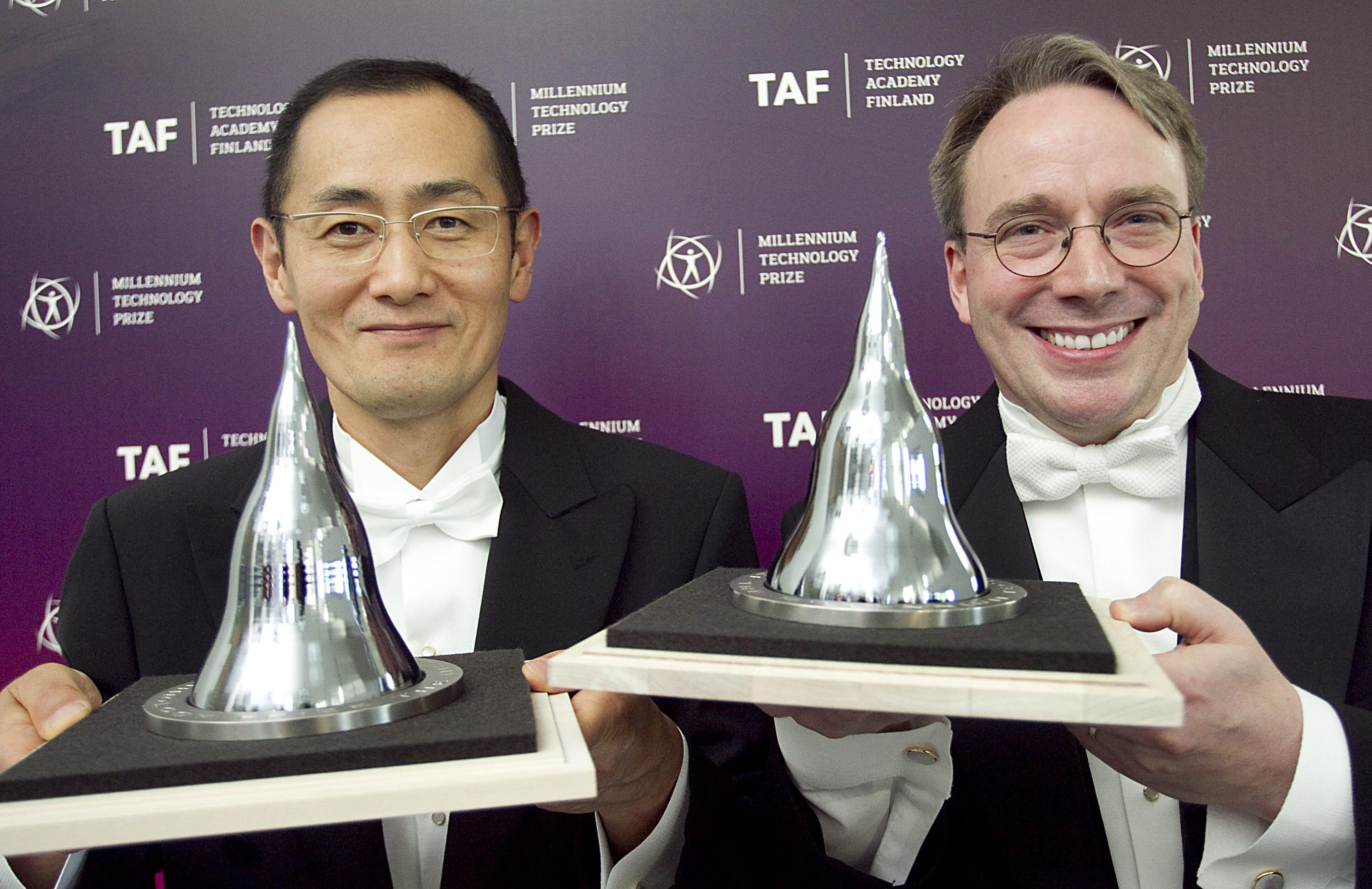 Създателят на Linux с Премия на хилядолетието