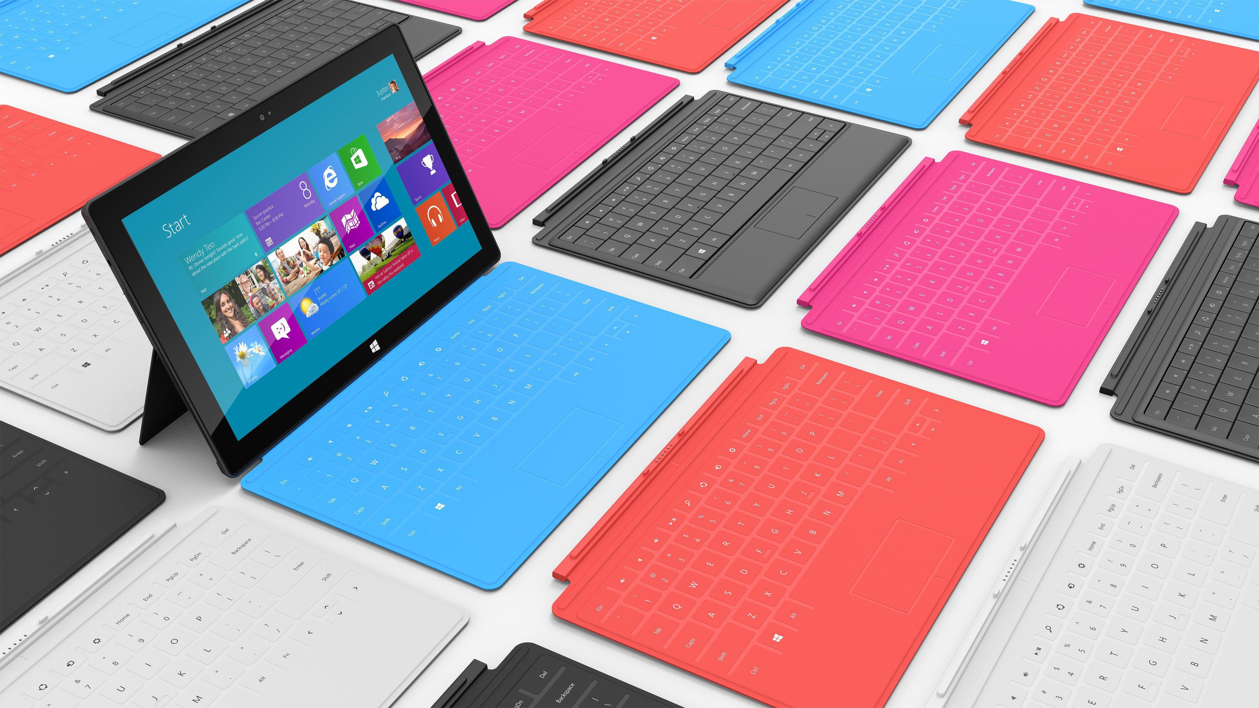 Microsoft представи първия си таблет - Surface