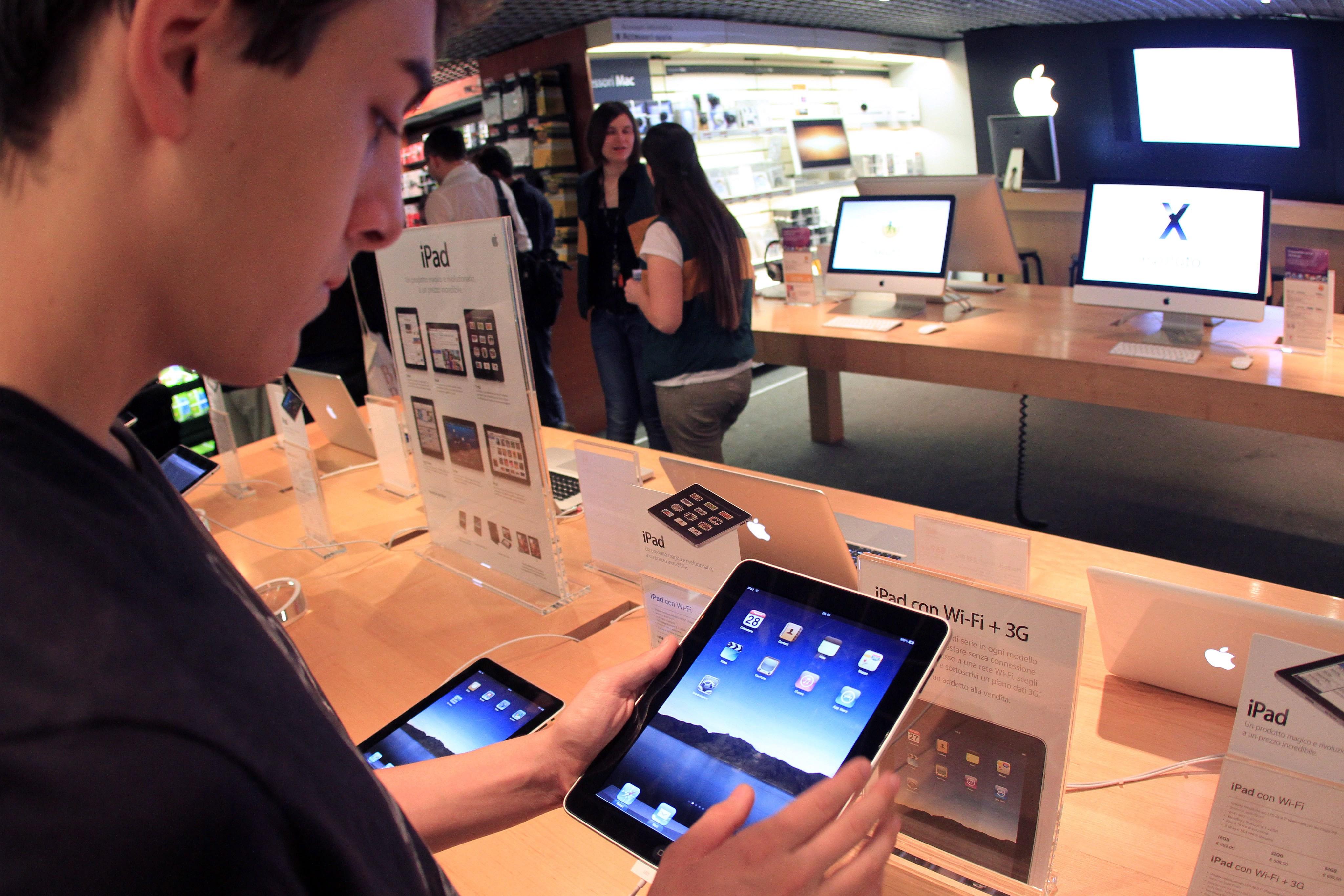 Samsung: Apple откраднала технологията мултитъч от Mitsubishi
