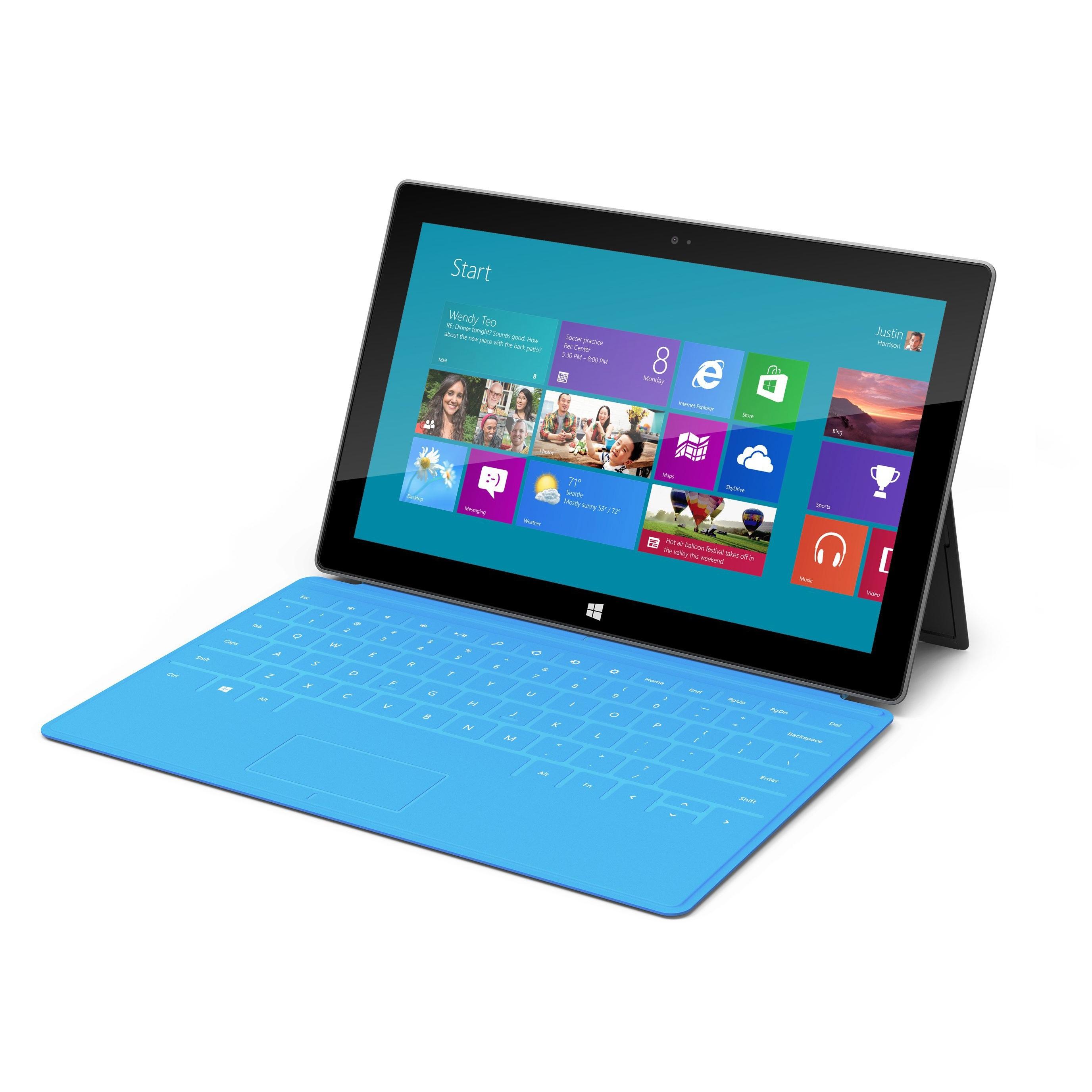 Microsoft вече работи по таблет Surface 2?
