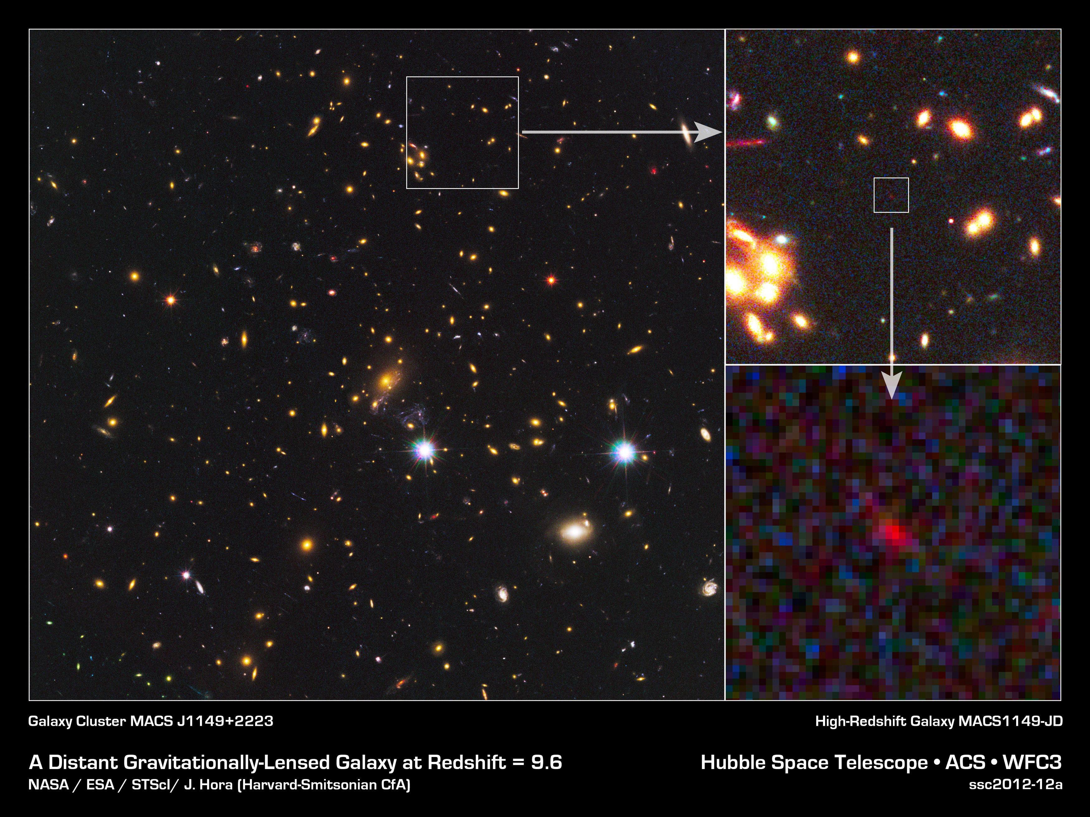 Откриха галактика на повече от 13 млрд. години