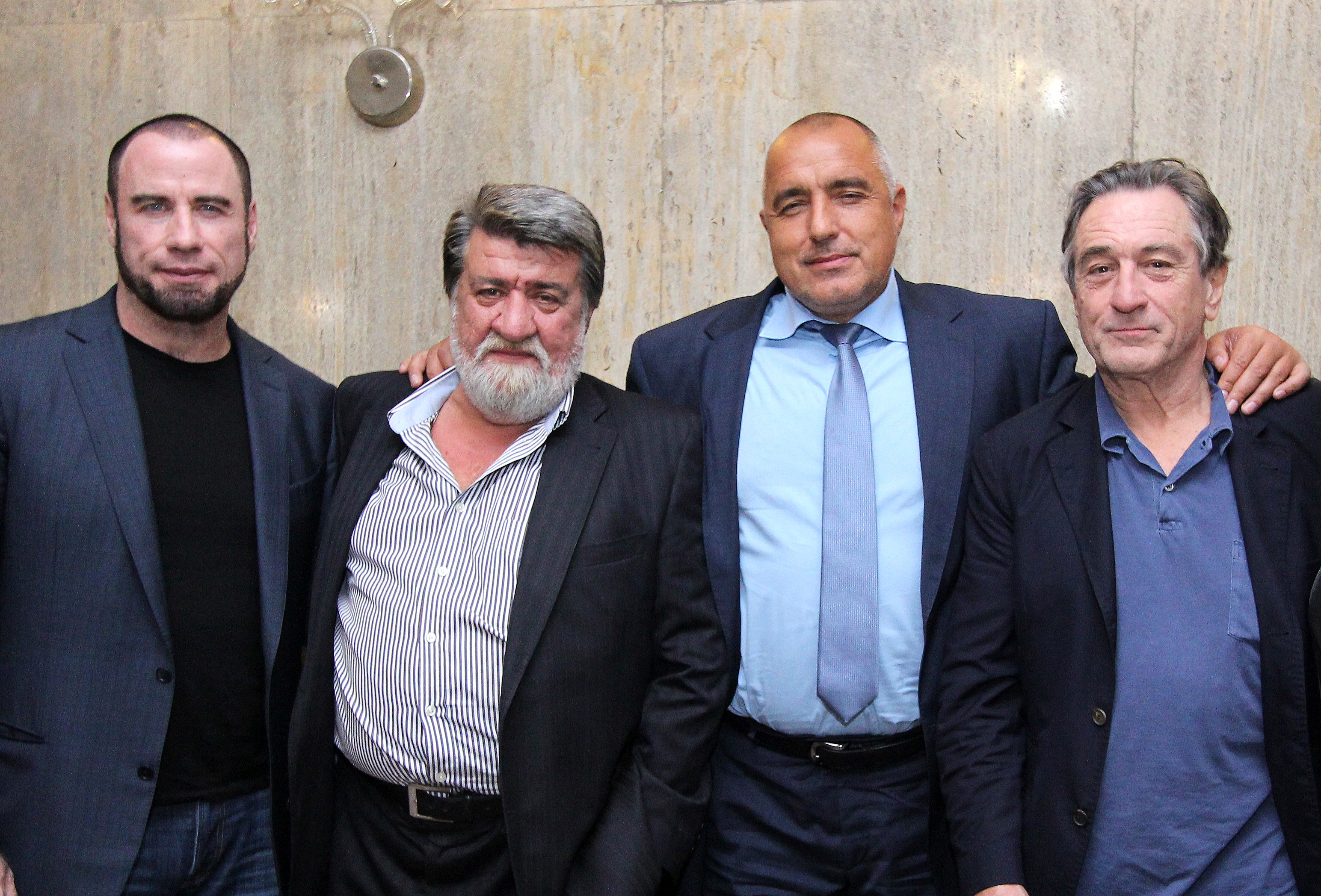 Борисов и Рашидов се снимаха с Де Ниро и Траволта
