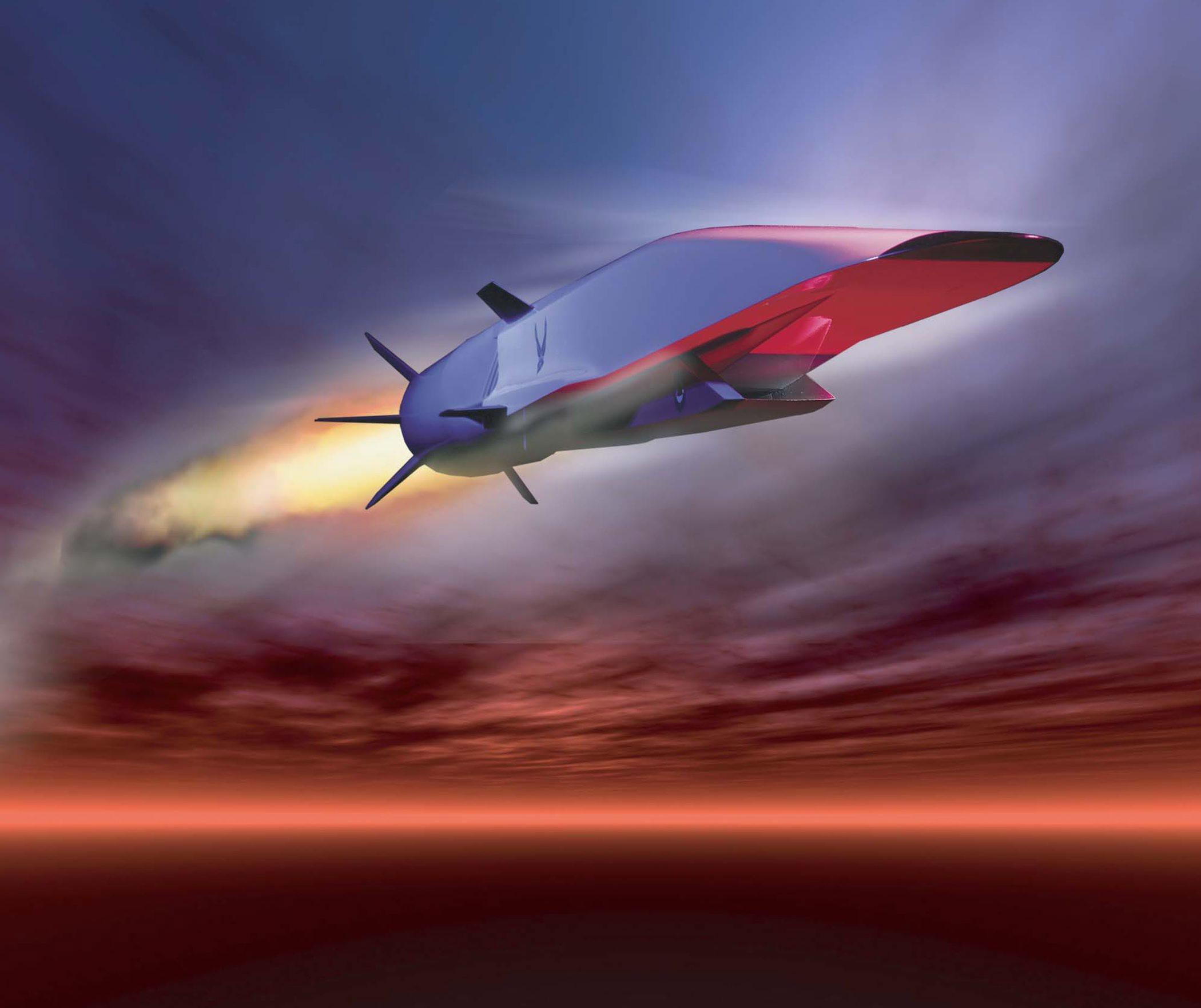 САЩ с хиперзвуков самолет през 2023 г. (снимки)