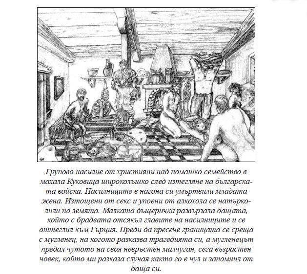 Книга пише, че българите са клали и гонили помаците