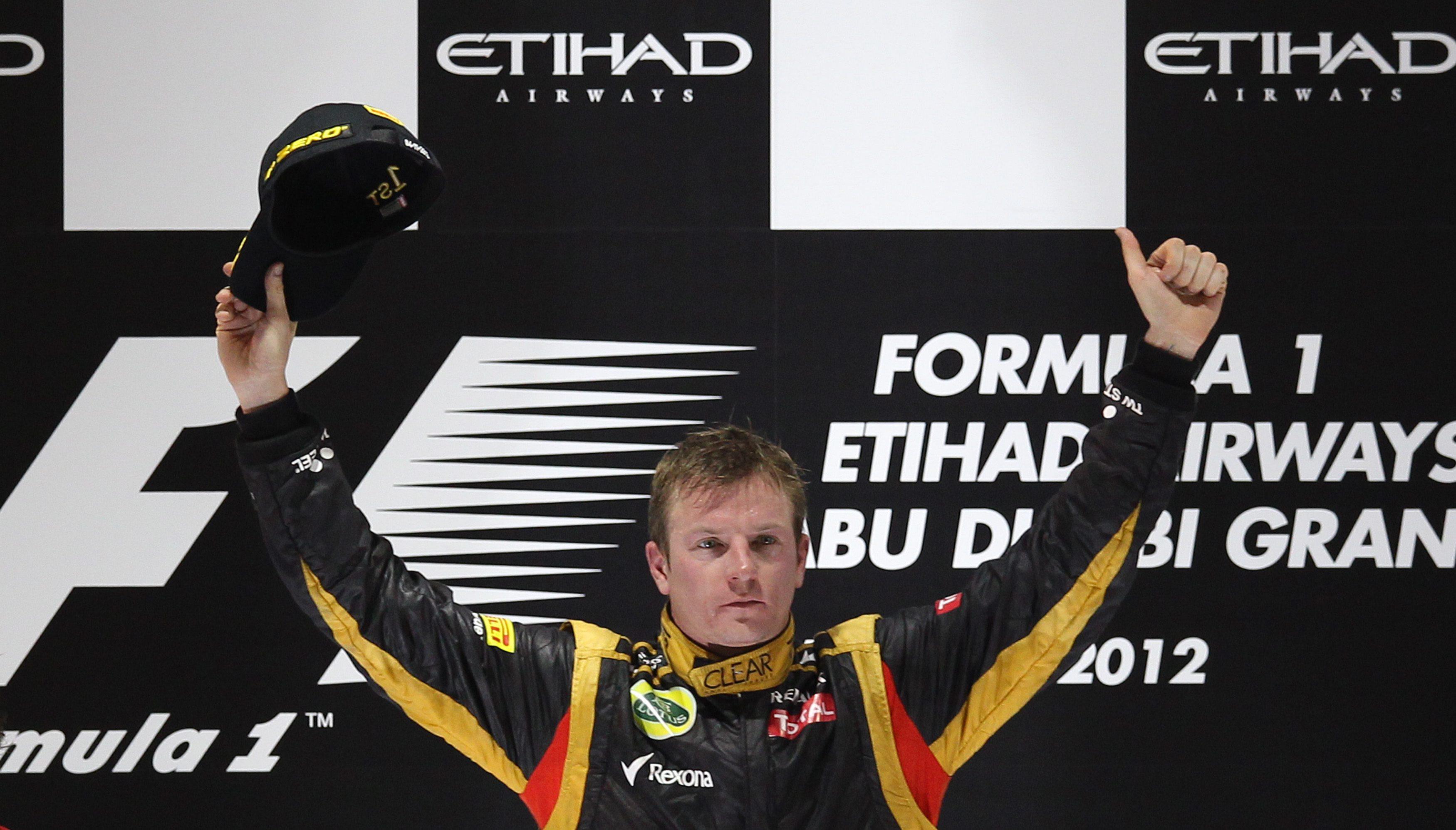 Райконен триумфира в Абу Даби, Алонсо се доближи на 10 т. от Фетел
