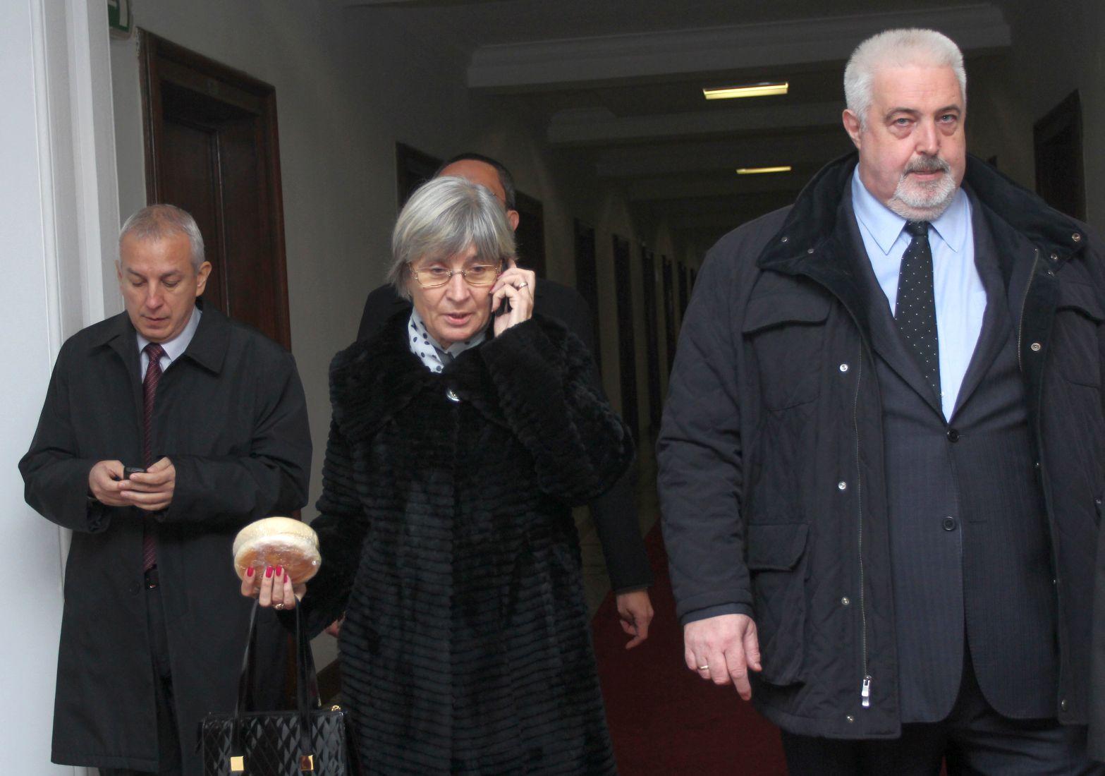 Венета Марковска подаде молба за пенсия и се отказа от КС