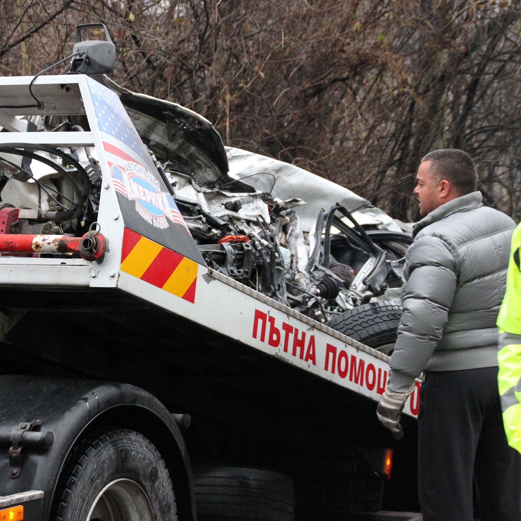 Петима ранени за 10 минути на пътя край Бургас