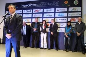 Министърът на спорта откри Европейската купа в Пампорово