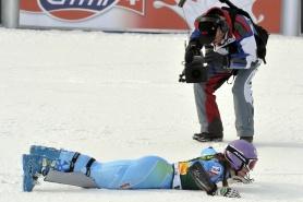 Тина Мазе спечели слалома в Марибор