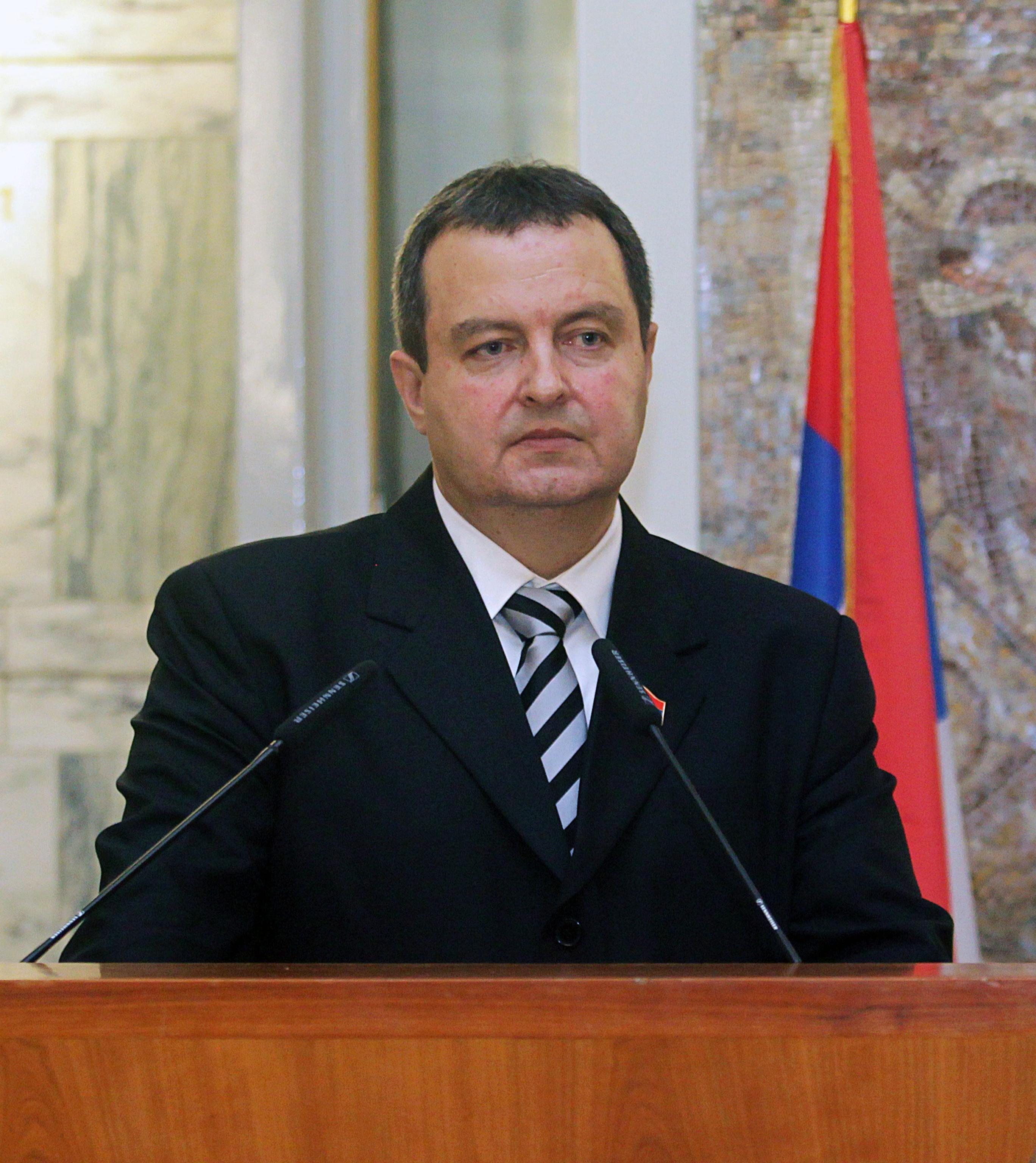 Ивица Дачич, министър на външните работи на Сърбия