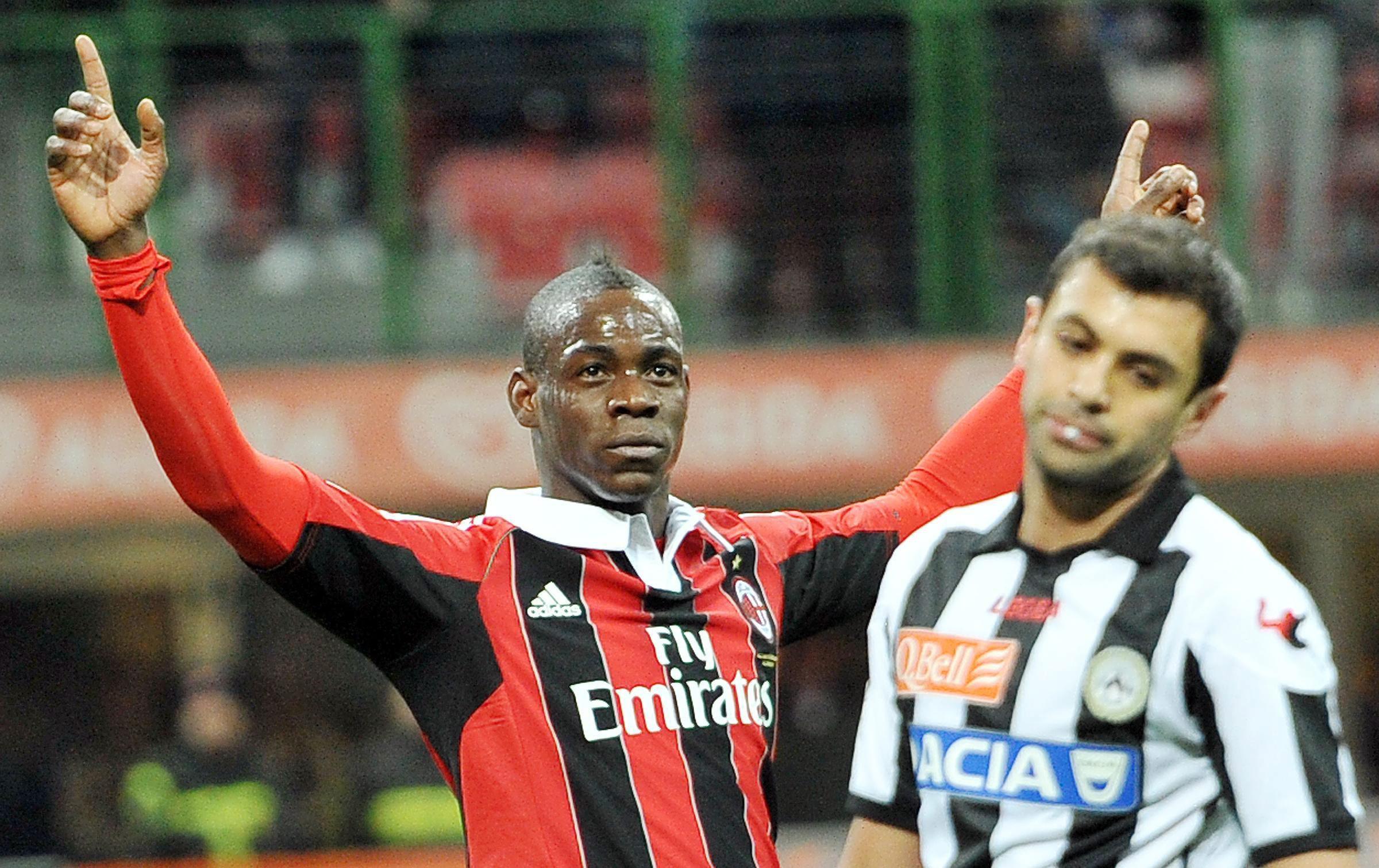 СуперМарио дебютира с 2 гола за Милан (видео)