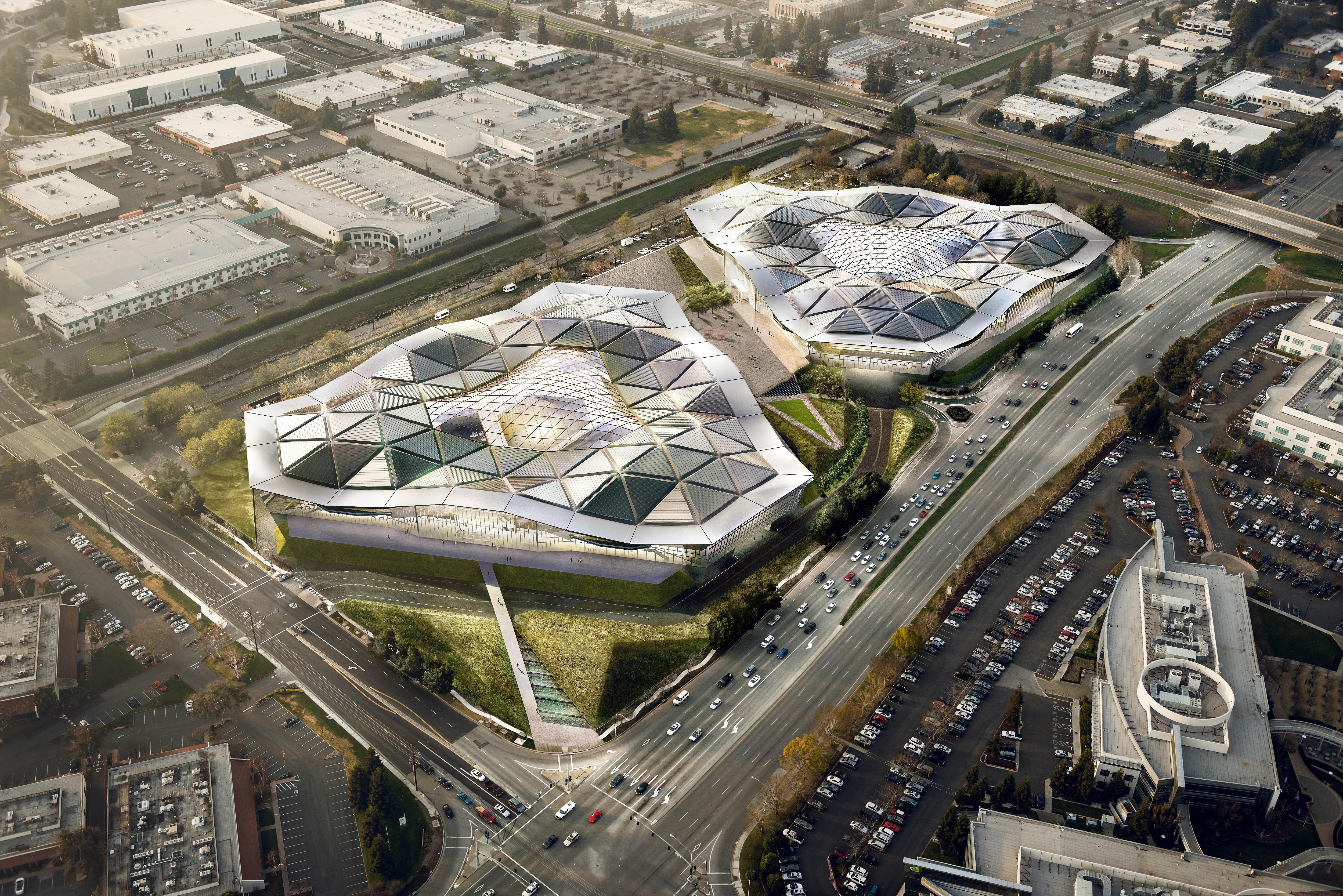 Как ще изглежда новата централа на Nvidia