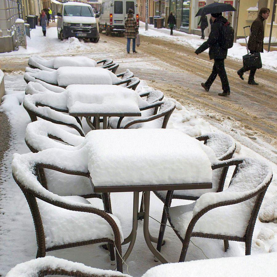 Зима в края на март?